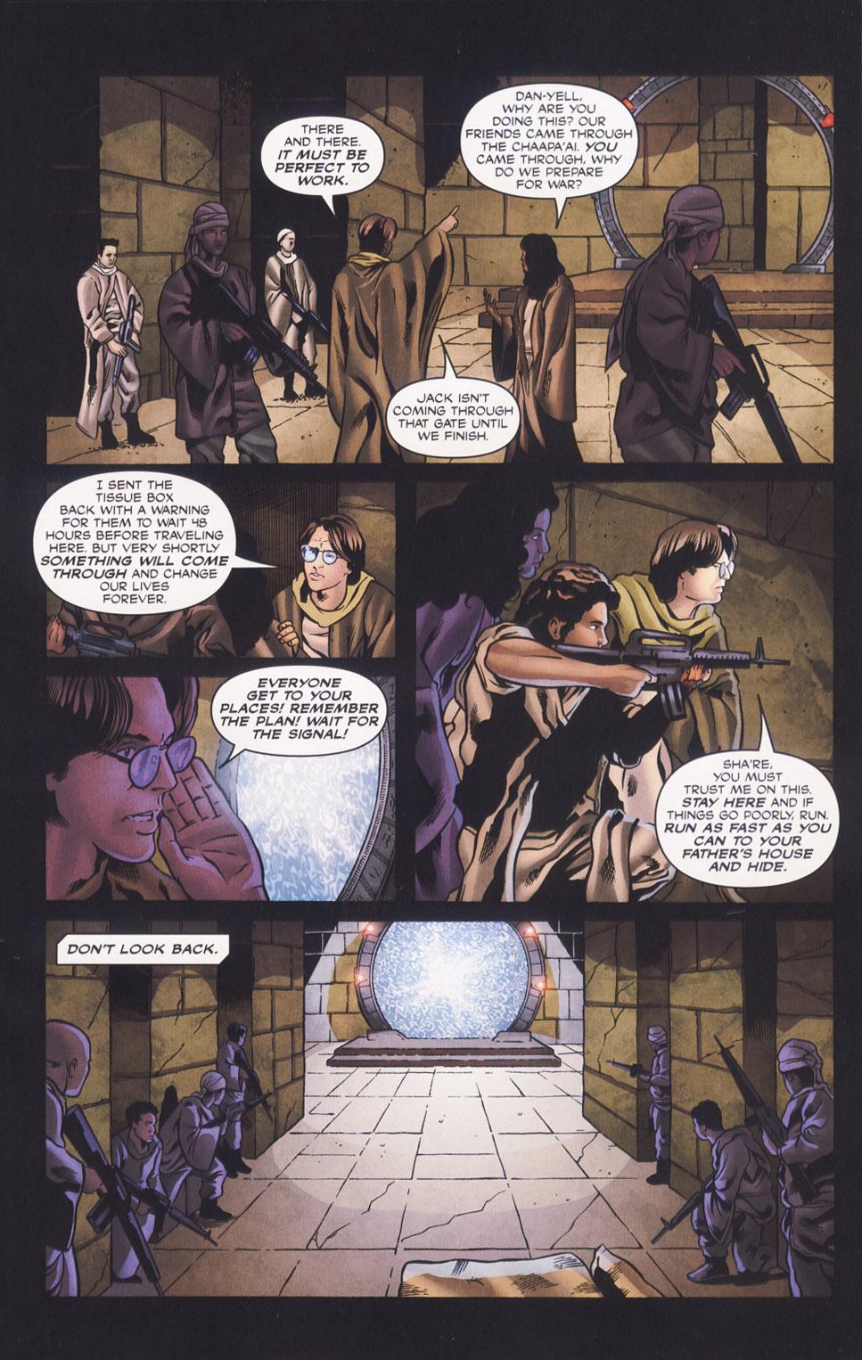 Read online Stargate SG-1: Daniel's Song comic -  Issue # Full - 9