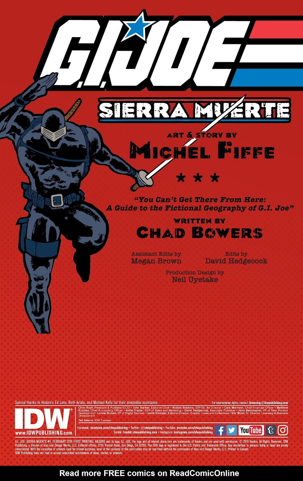 Read online G.I. Joe: Sierra Muerte comic -  Issue #1 - 2