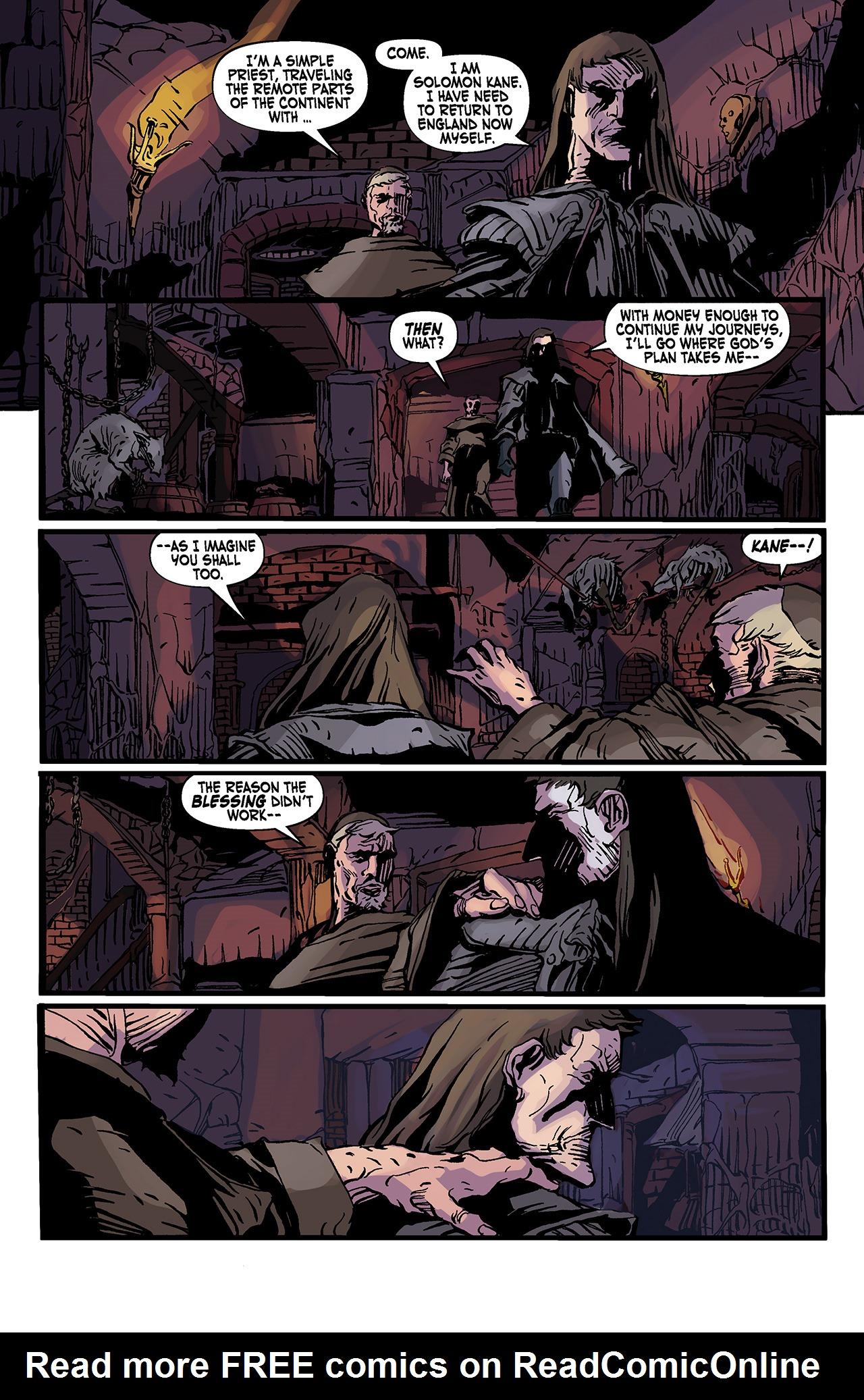 Read online Solomon Kane: Death's Black Riders comic -  Issue #3 - 17