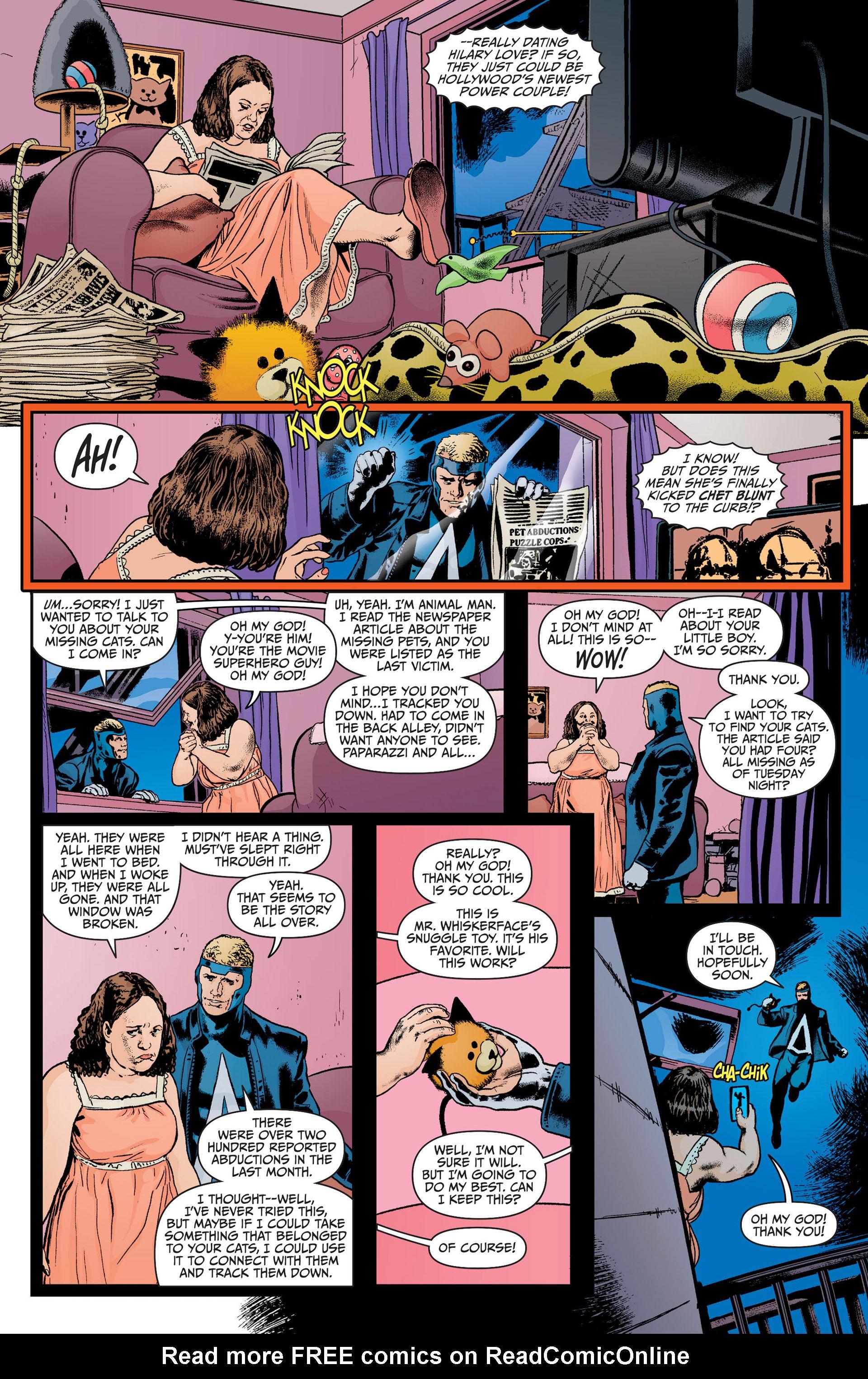 Read online Animal Man (2011) comic -  Issue #21 - 9
