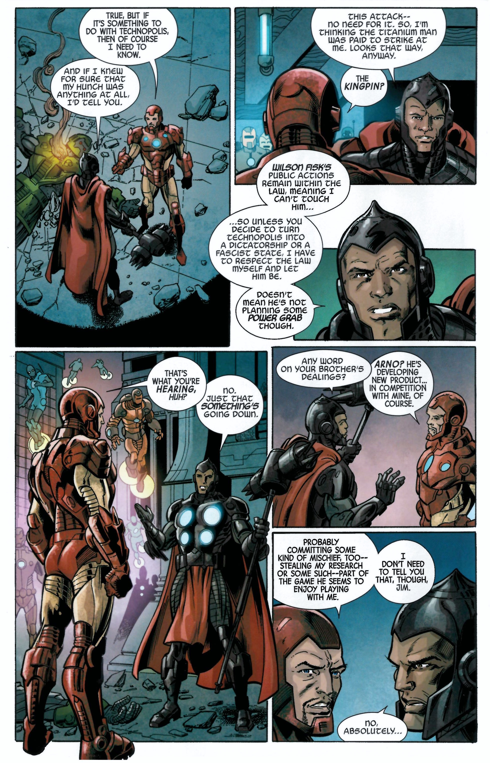 Read online Armor Wars comic -  Issue #0.5 - 9