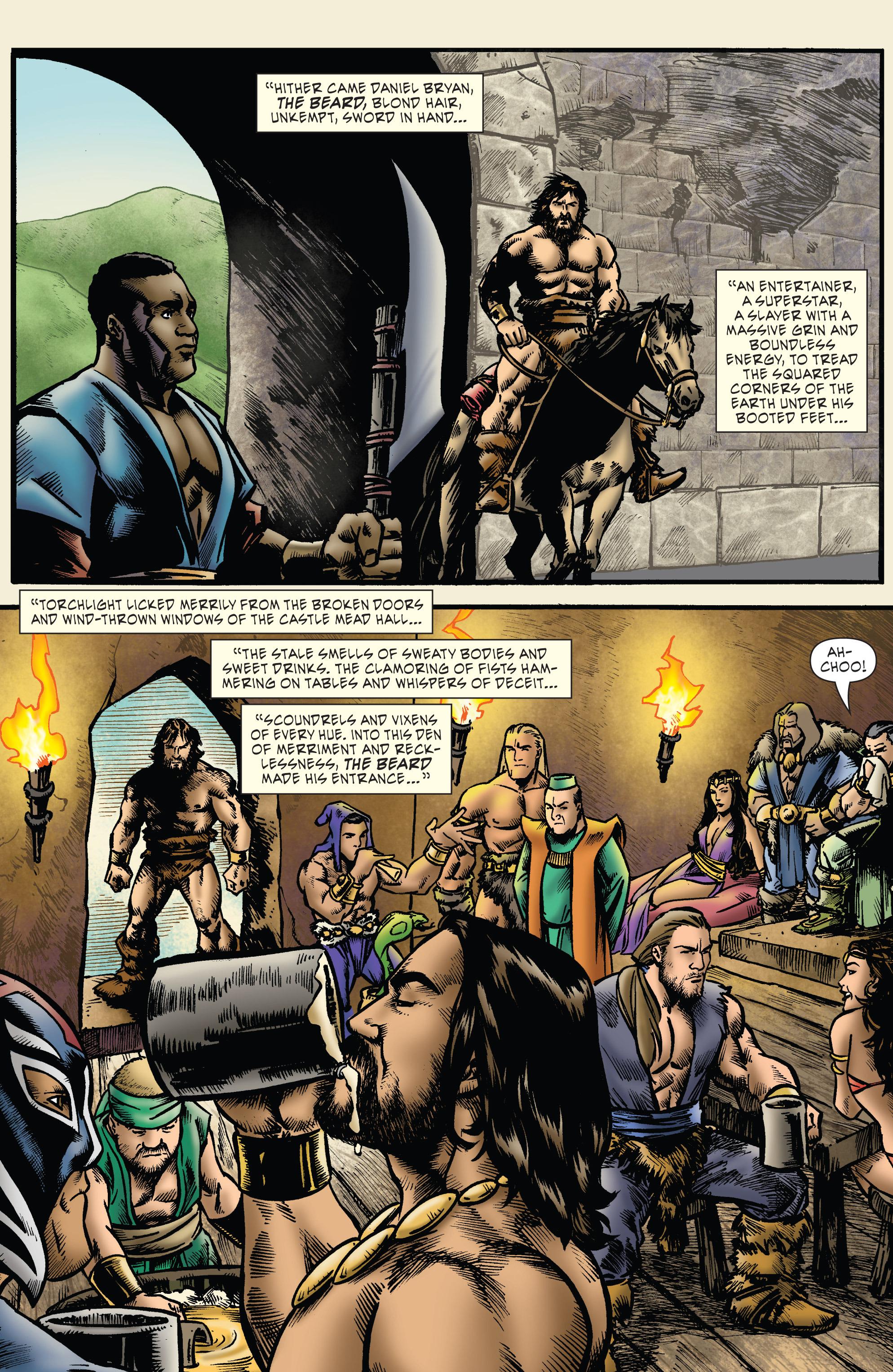 Read online WWE Superstars comic -  Issue #7 - 10