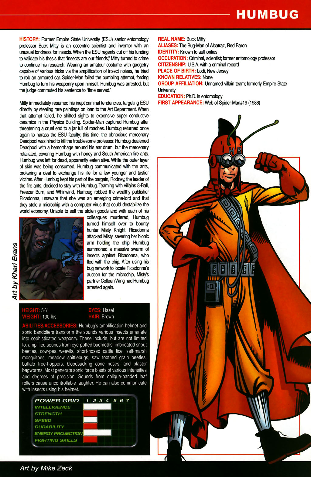 Read online All-New Official Handbook of the Marvel Universe A to Z comic -  Issue #5 - 35