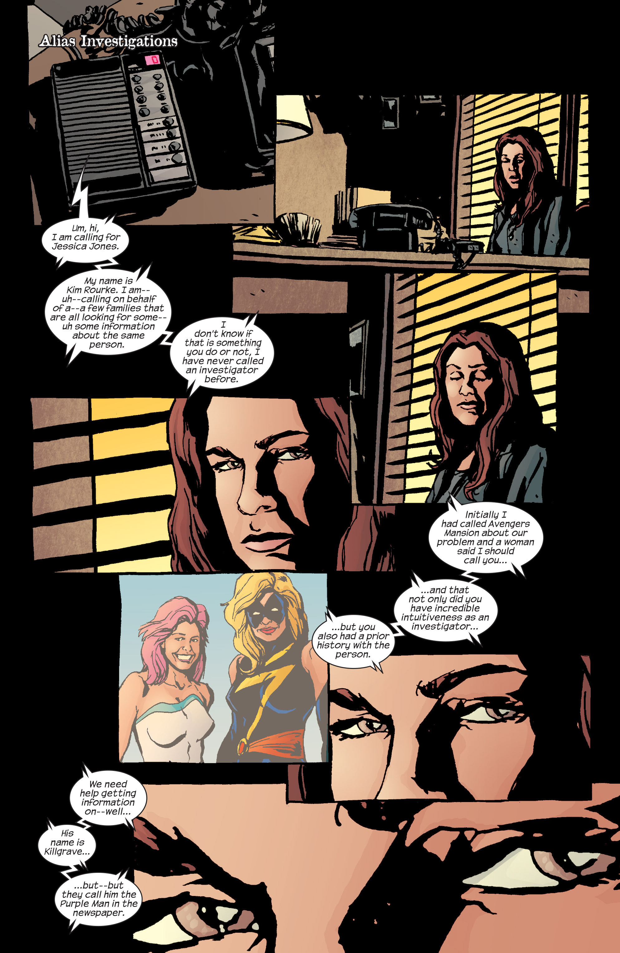 Read online Alias comic -  Issue #24 - 16