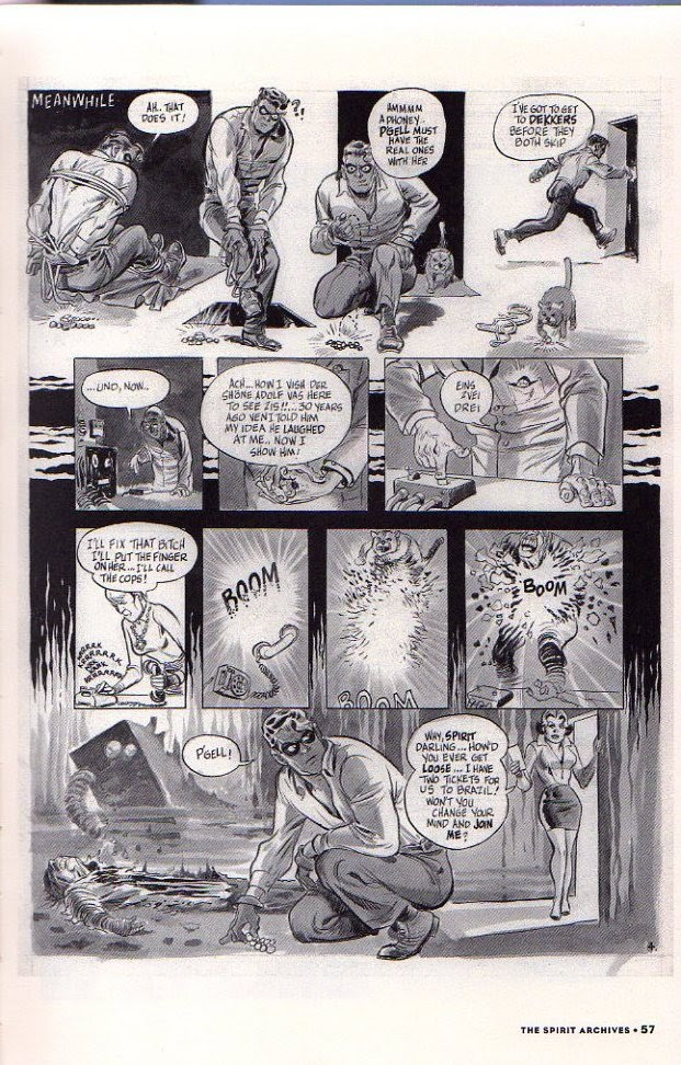 Read online Will Eisner's The Spirit Archives comic -  Issue # TPB 26 (Part 1) - 64