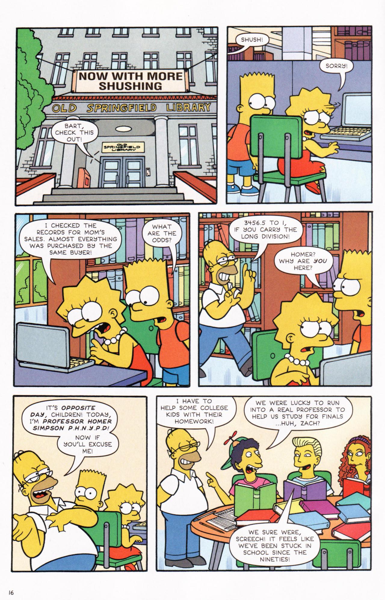 Read online Simpsons Comics comic -  Issue #130 - 14