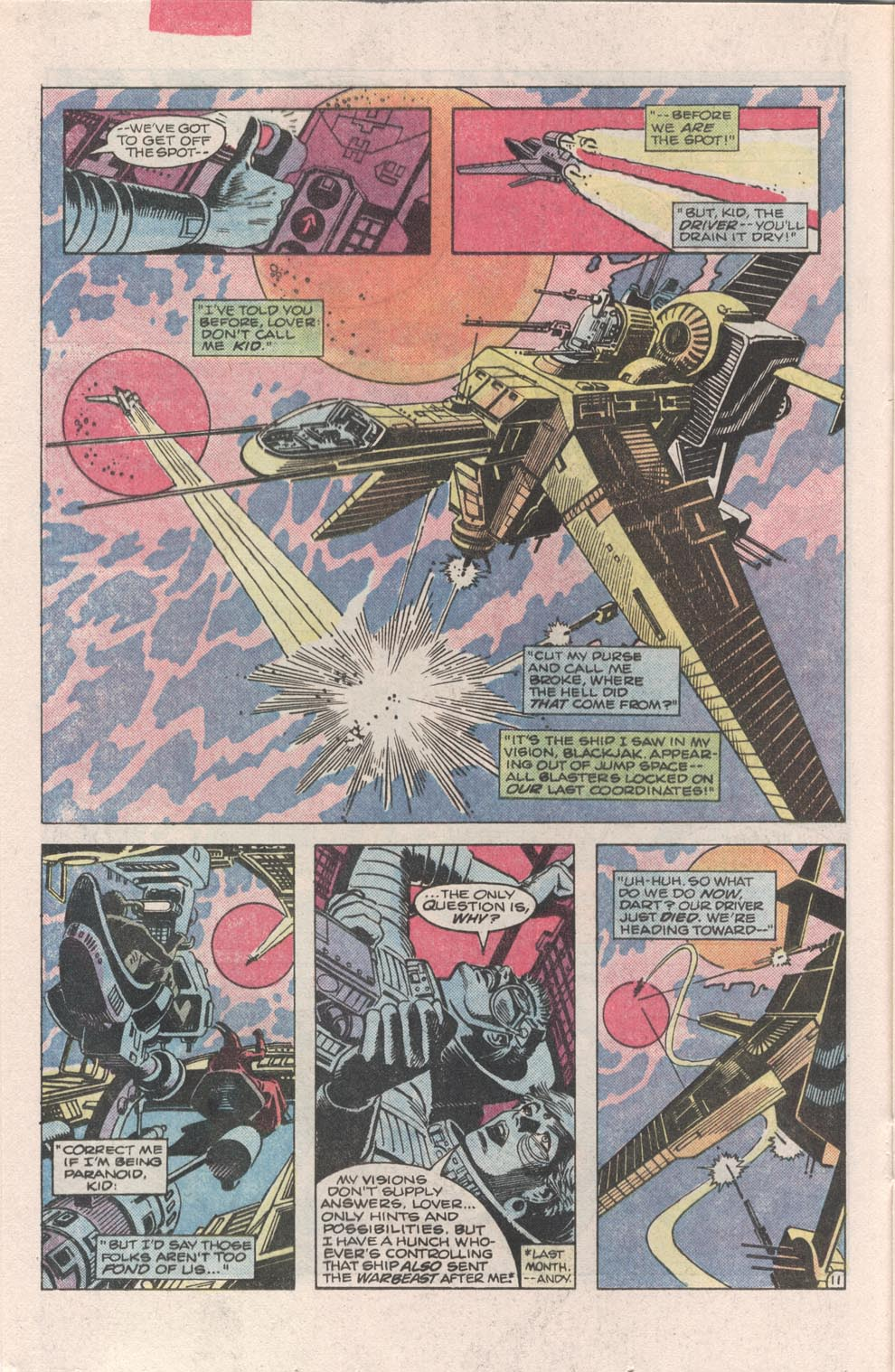 Read online Atari Force (1984) comic -  Issue #3 - 12