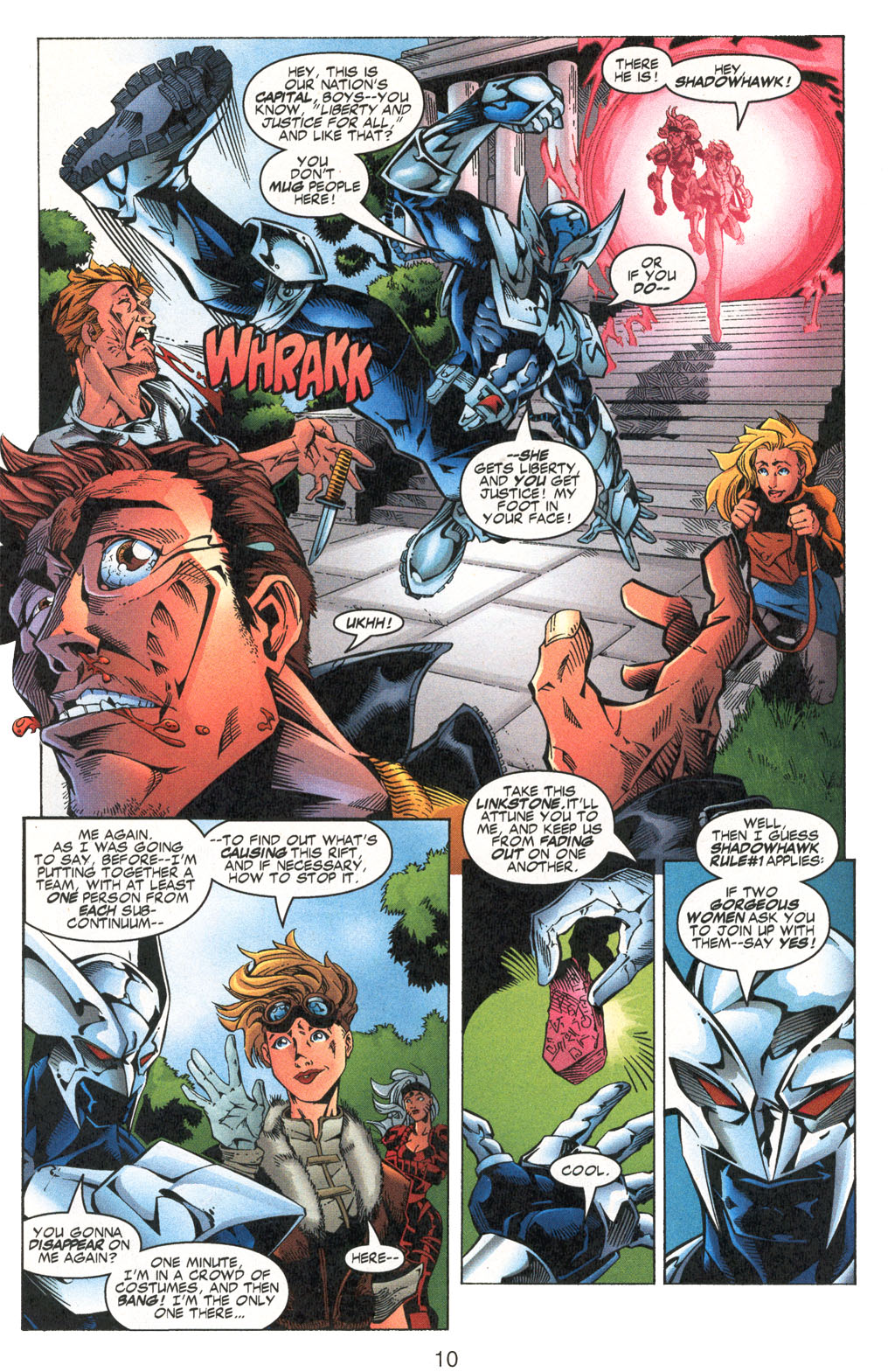 Read online Shattered Image comic -  Issue #2 - 10
