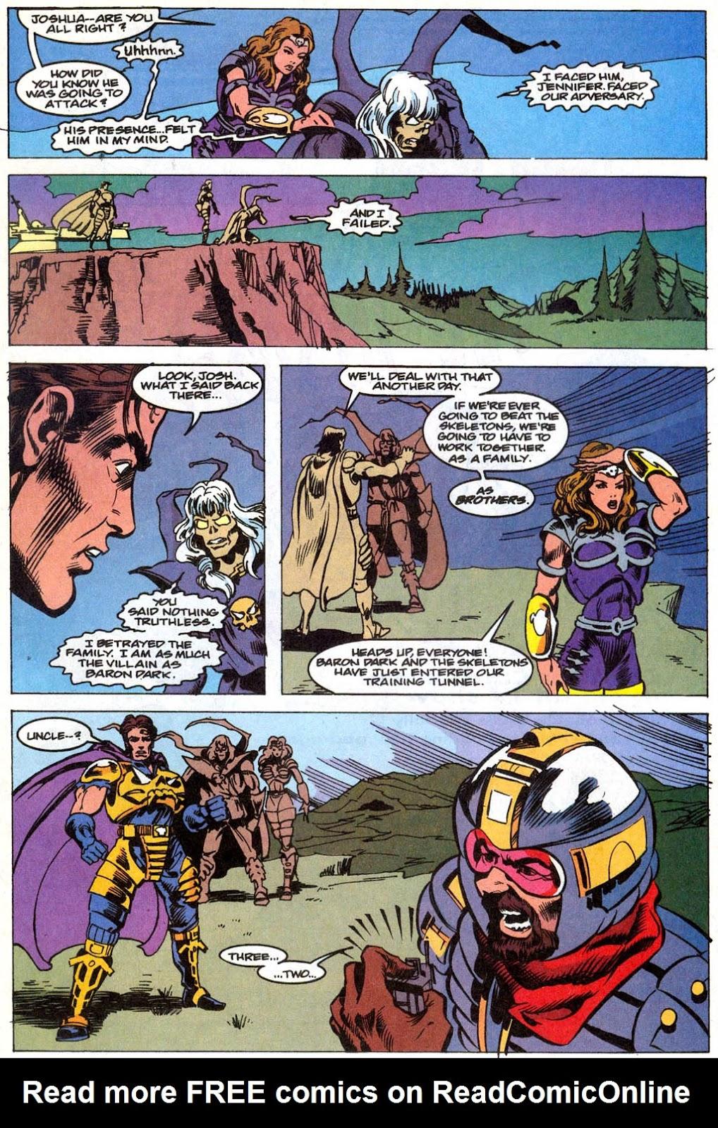 Skeleton Warriors Issue #1 #1 - English 20