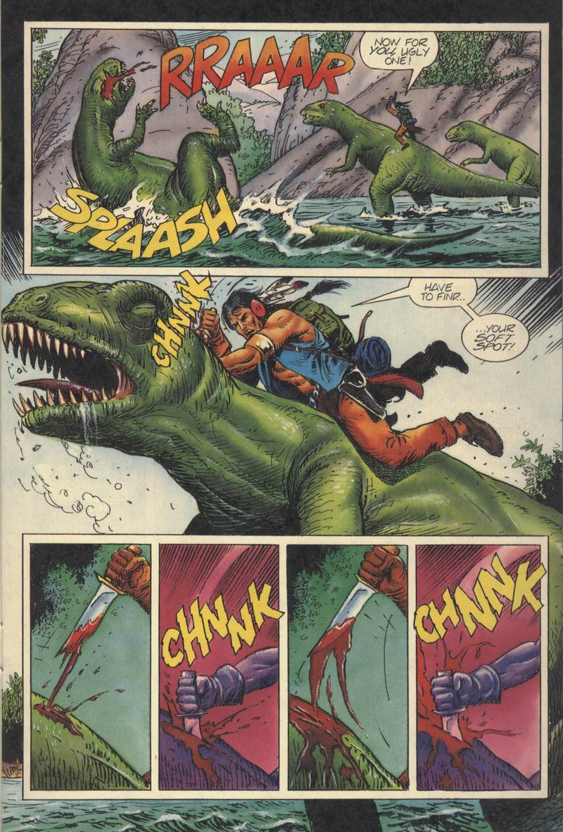 Read online Turok, Dinosaur Hunter (1993) comic -  Issue #8 - 10