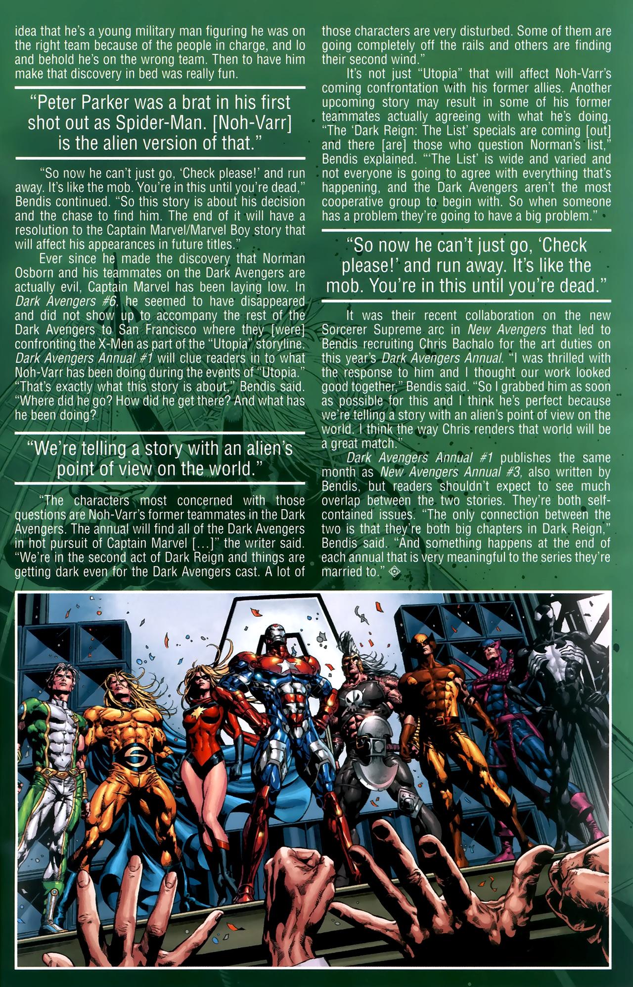 Read online Dark Avengers (2009) comic -  Issue # _Annual 1 - 30