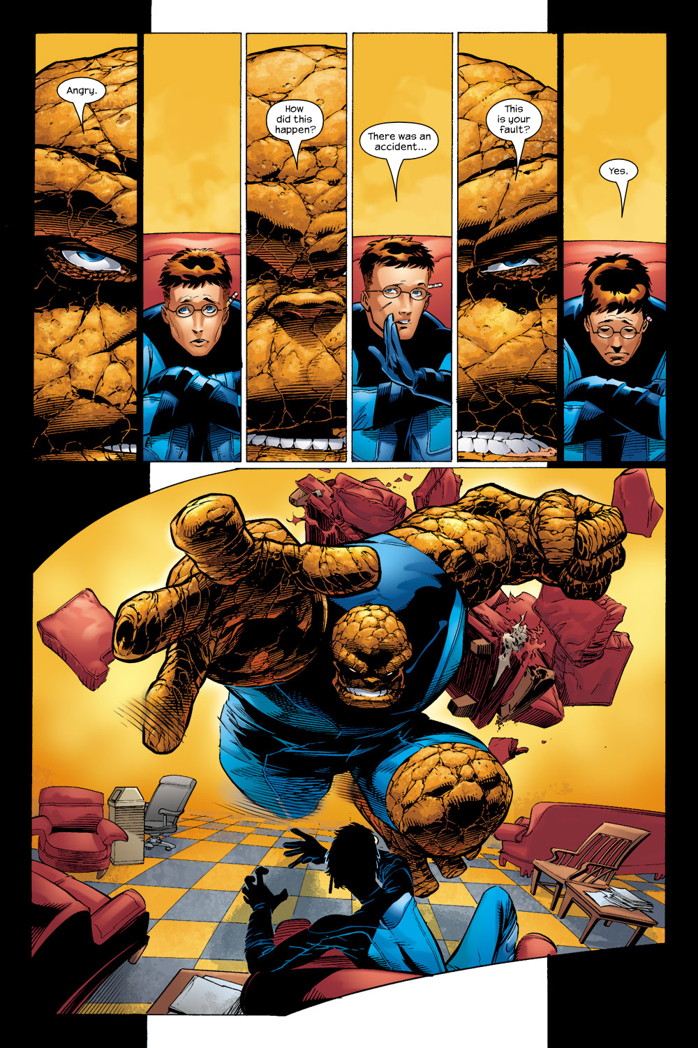Read online Ultimate Fantastic Four (2004) comic -  Issue #4 - 7