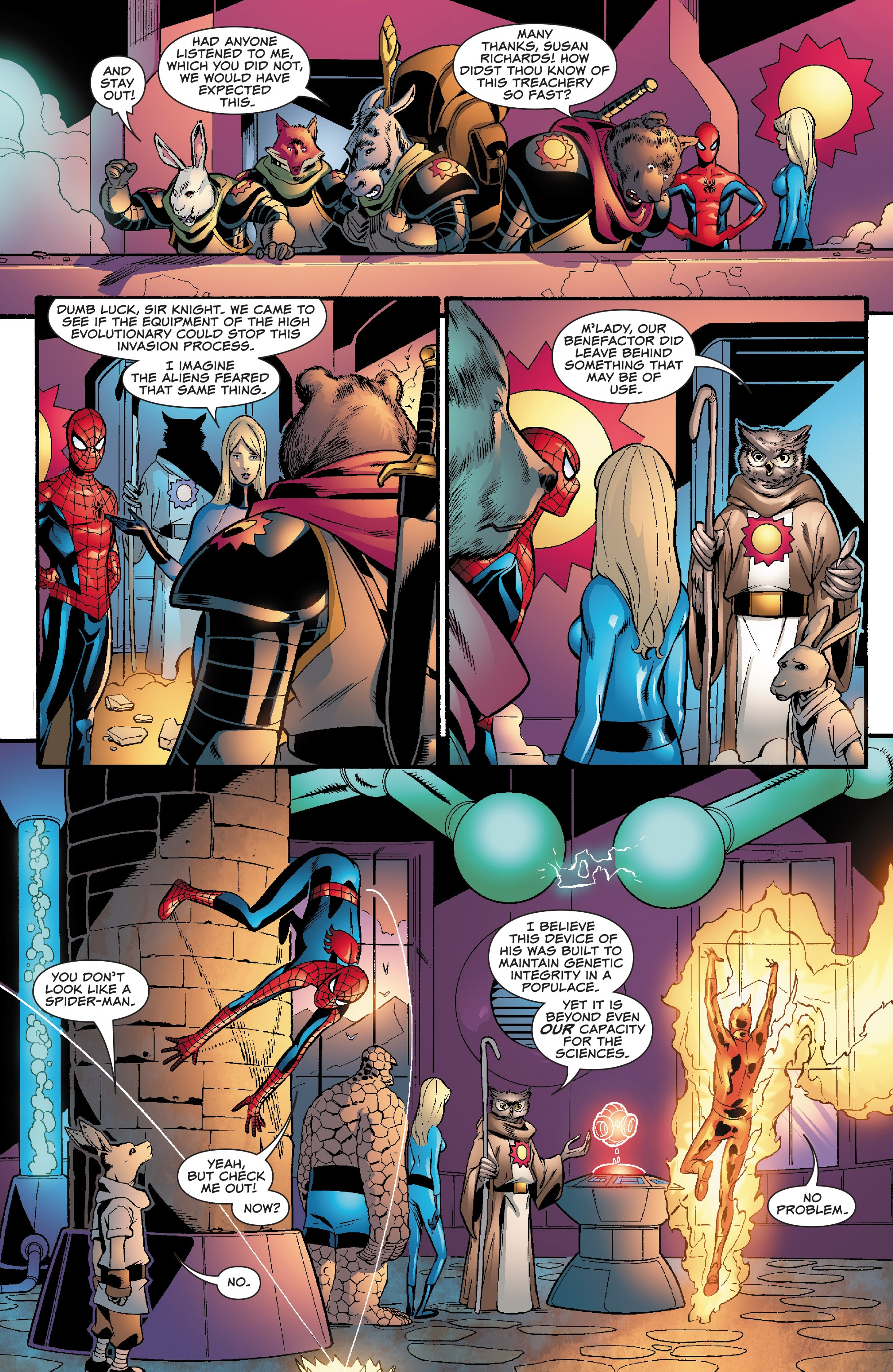 Spider-Man and the Fantastic Four issue 3 - Page 16