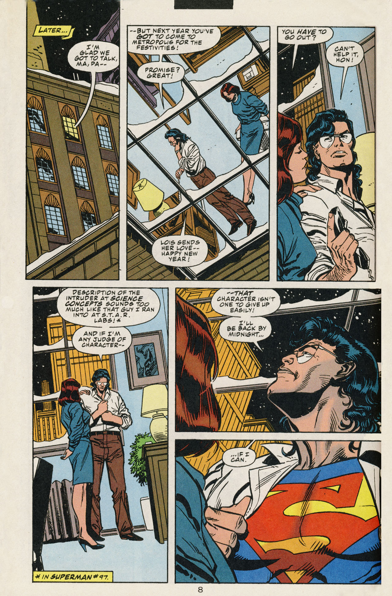 Read online Action Comics (1938) comic -  Issue #707 - 11