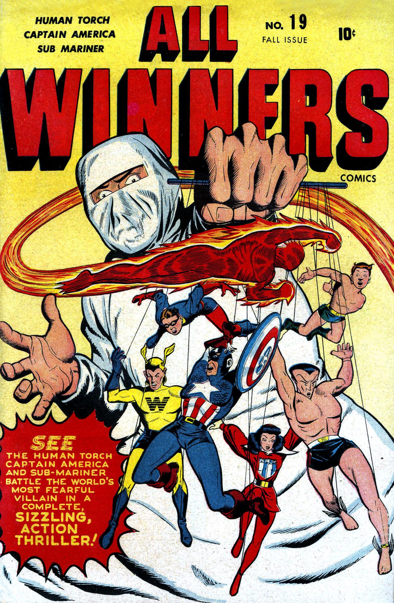All-Winners Comics 19 Page 1