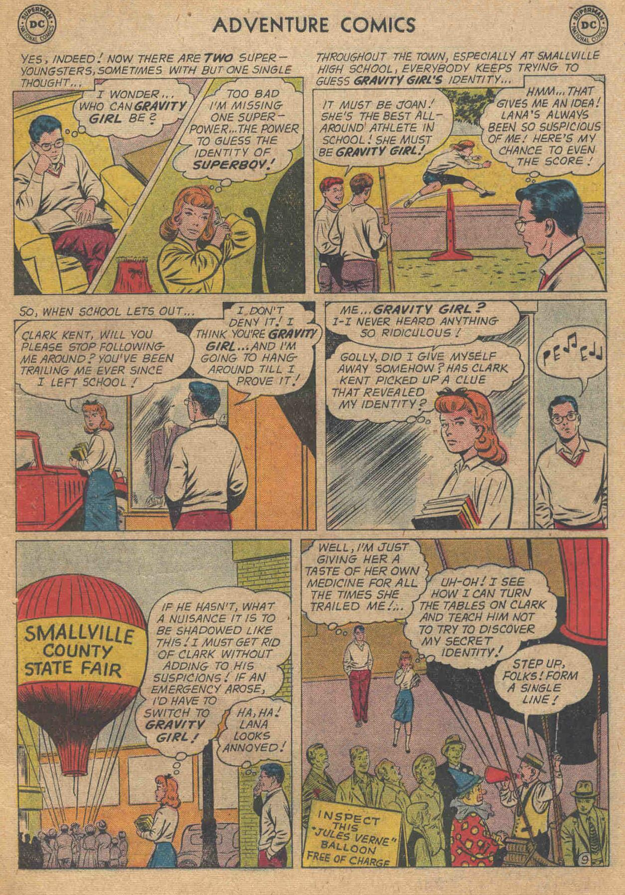Read online Adventure Comics (1938) comic -  Issue #285 - 11