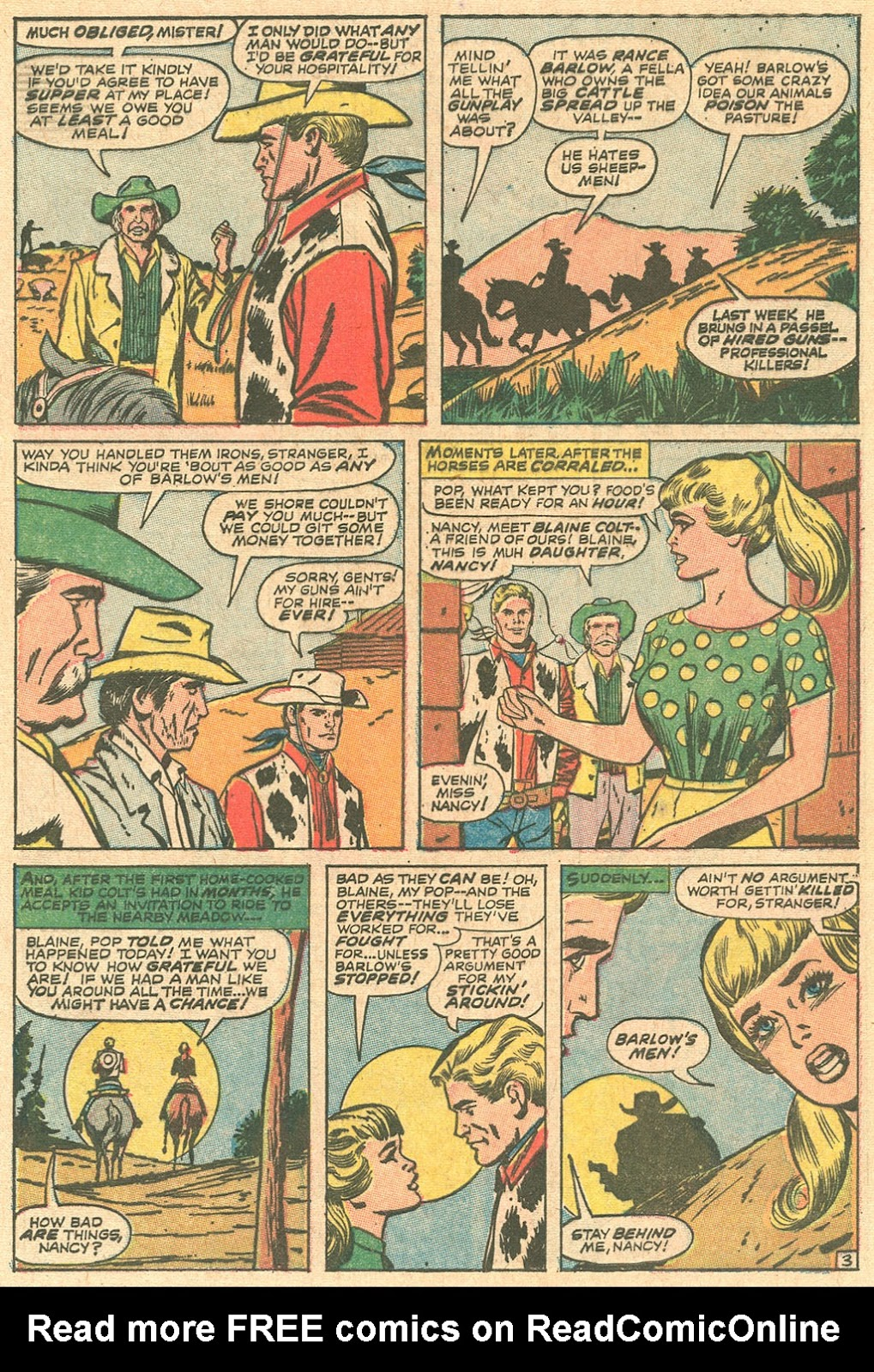 Kid Colt Outlaw issue 136 - Page 5