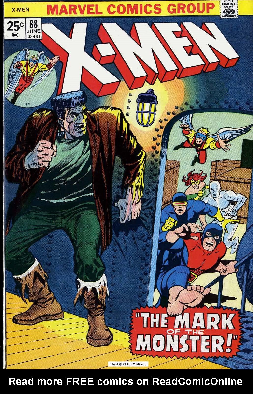 Uncanny X-Men (1963) 88 Page 1