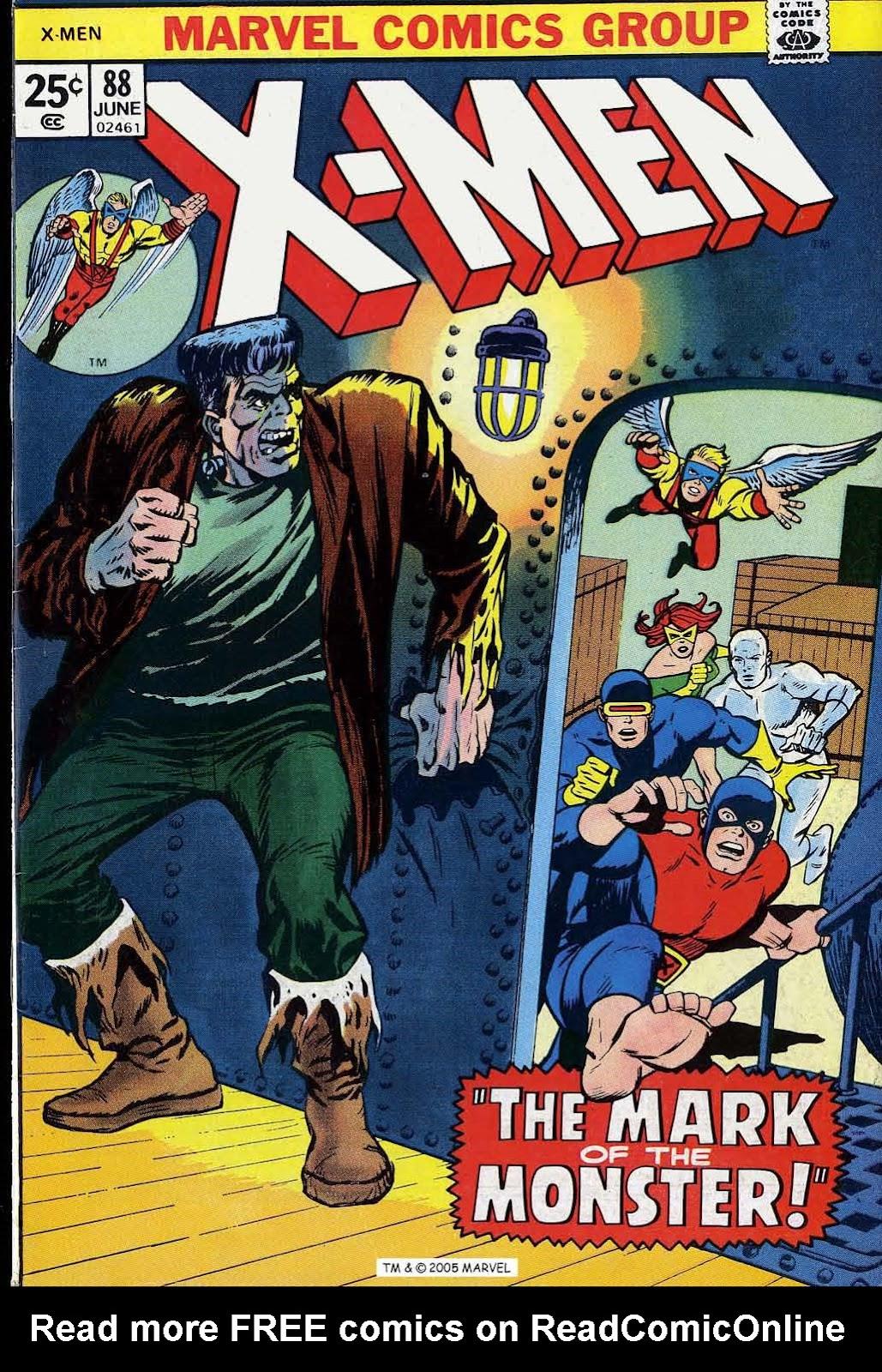 Uncanny X-Men (1963) issue 88 - Page 1