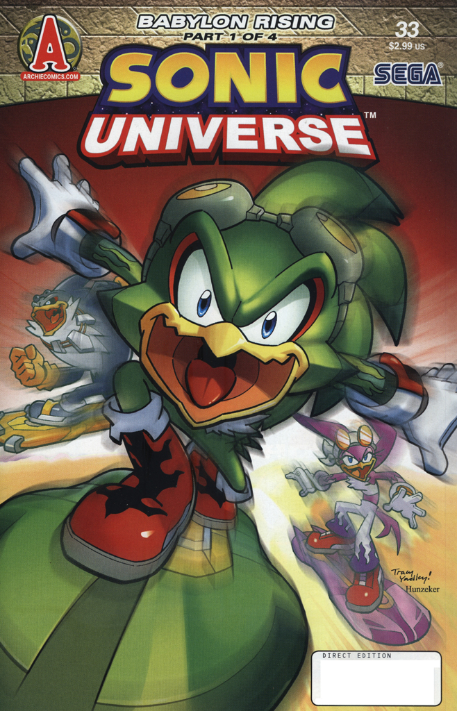 Read online Sonic Universe comic -  Issue #33 - 1
