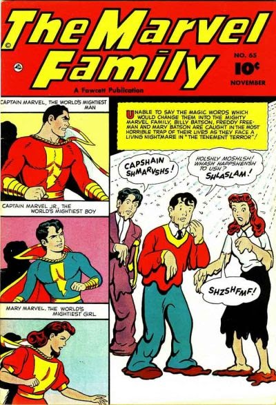 The Marvel Family 65 Page 1