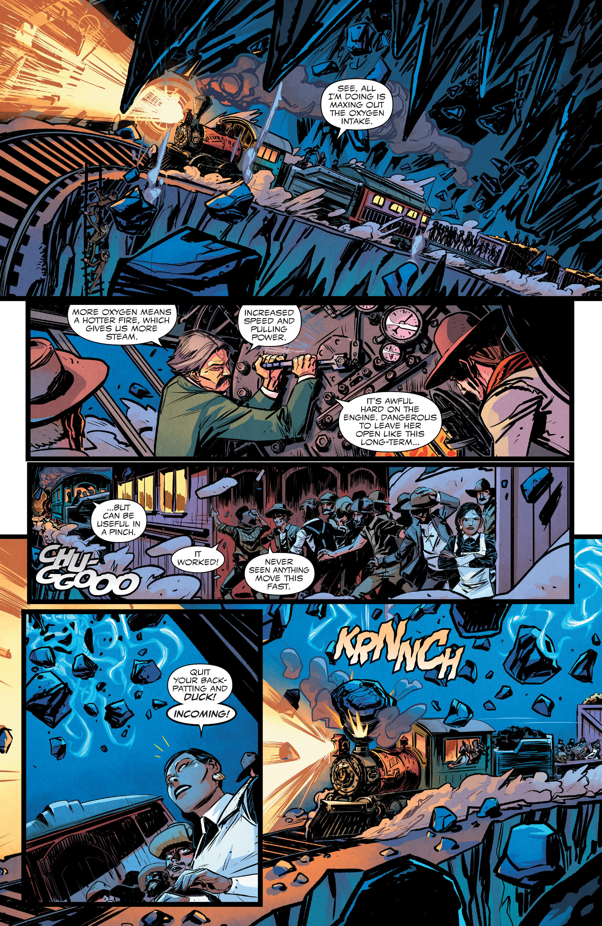 Read online Big Thunder Mountain Railroad comic -  Issue #5 - 8