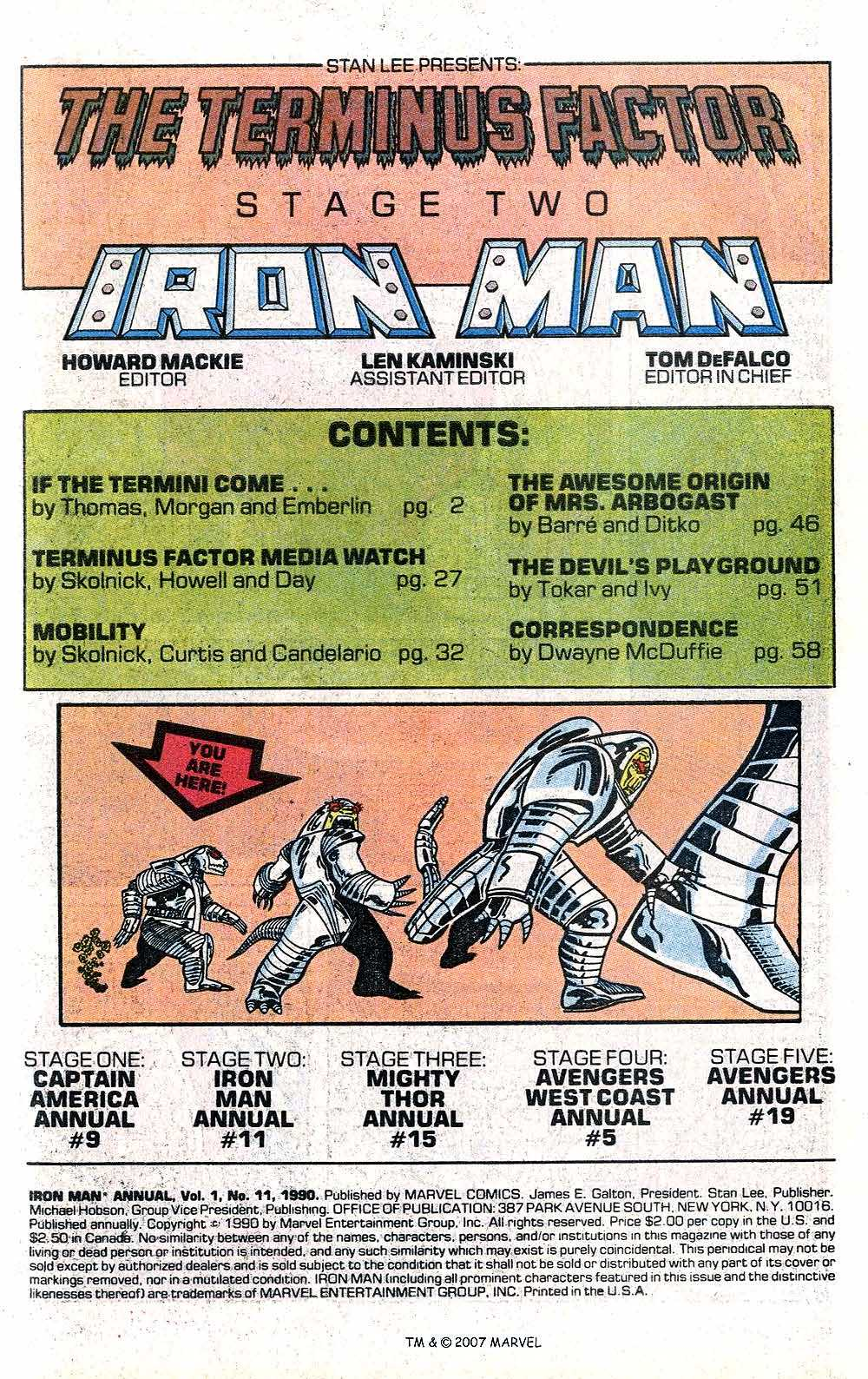 Iron Man Annual issue 11 - Page 3