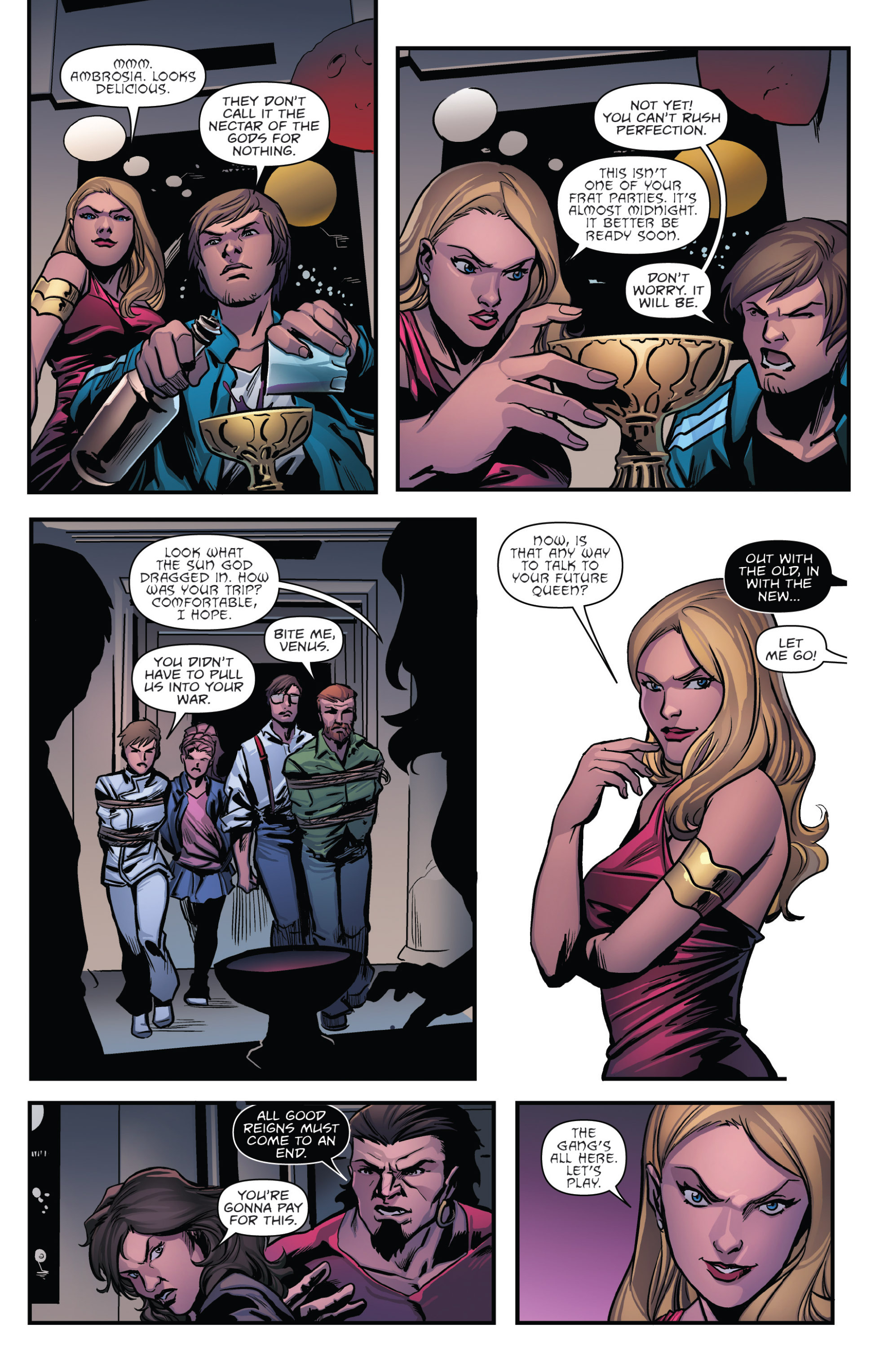 Read online Grimm Fairy Tales presents Goddess Inc. comic -  Issue #5 - 10