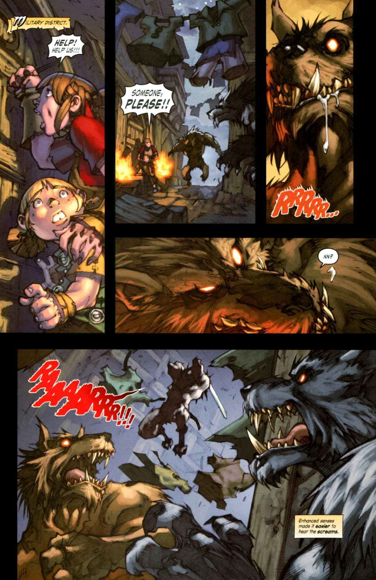 Read online World of Warcraft: Curse of the Worgen comic -  Issue #4 - 9