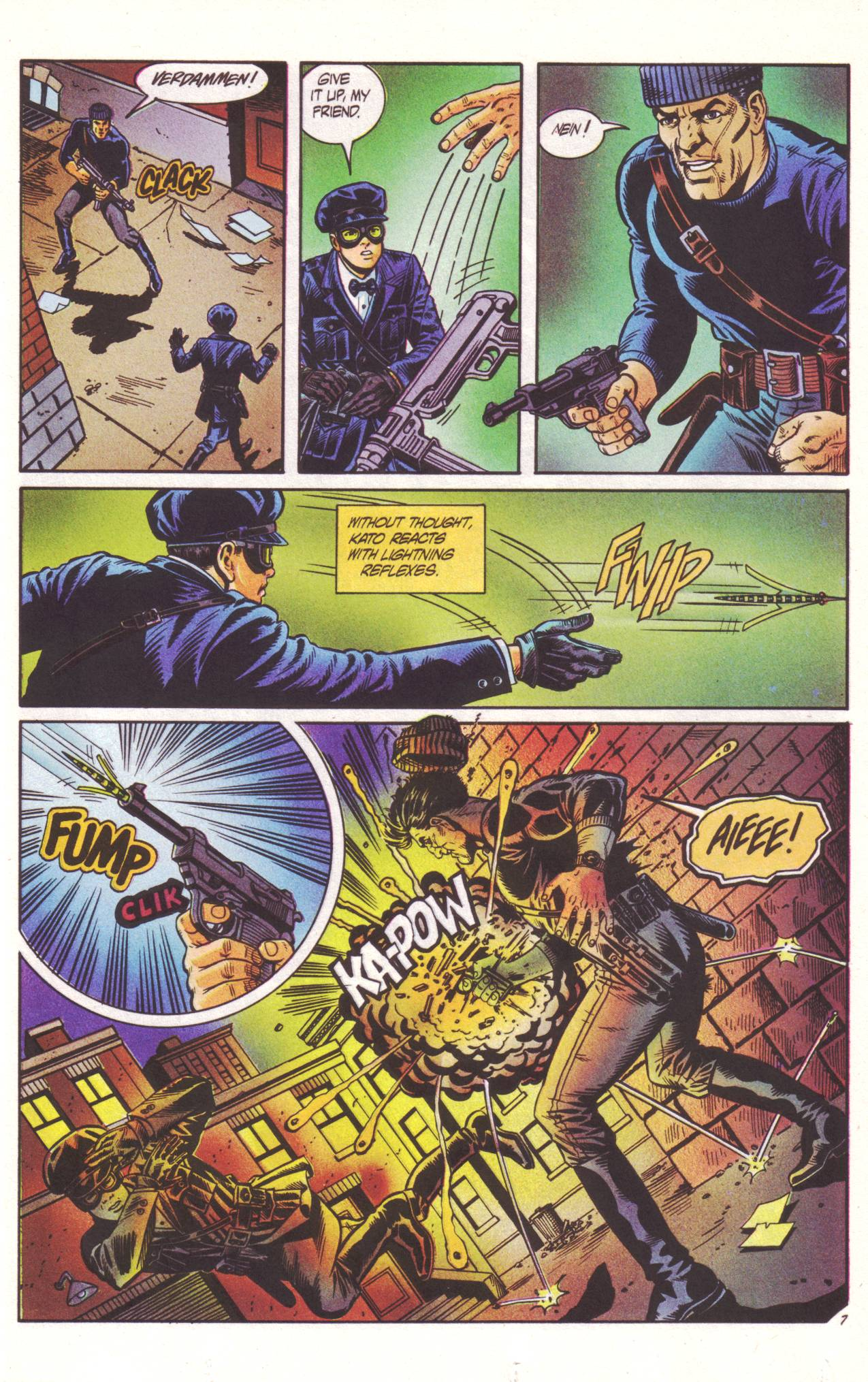 Read online Sting of The Green Hornet comic -  Issue #2 - 8