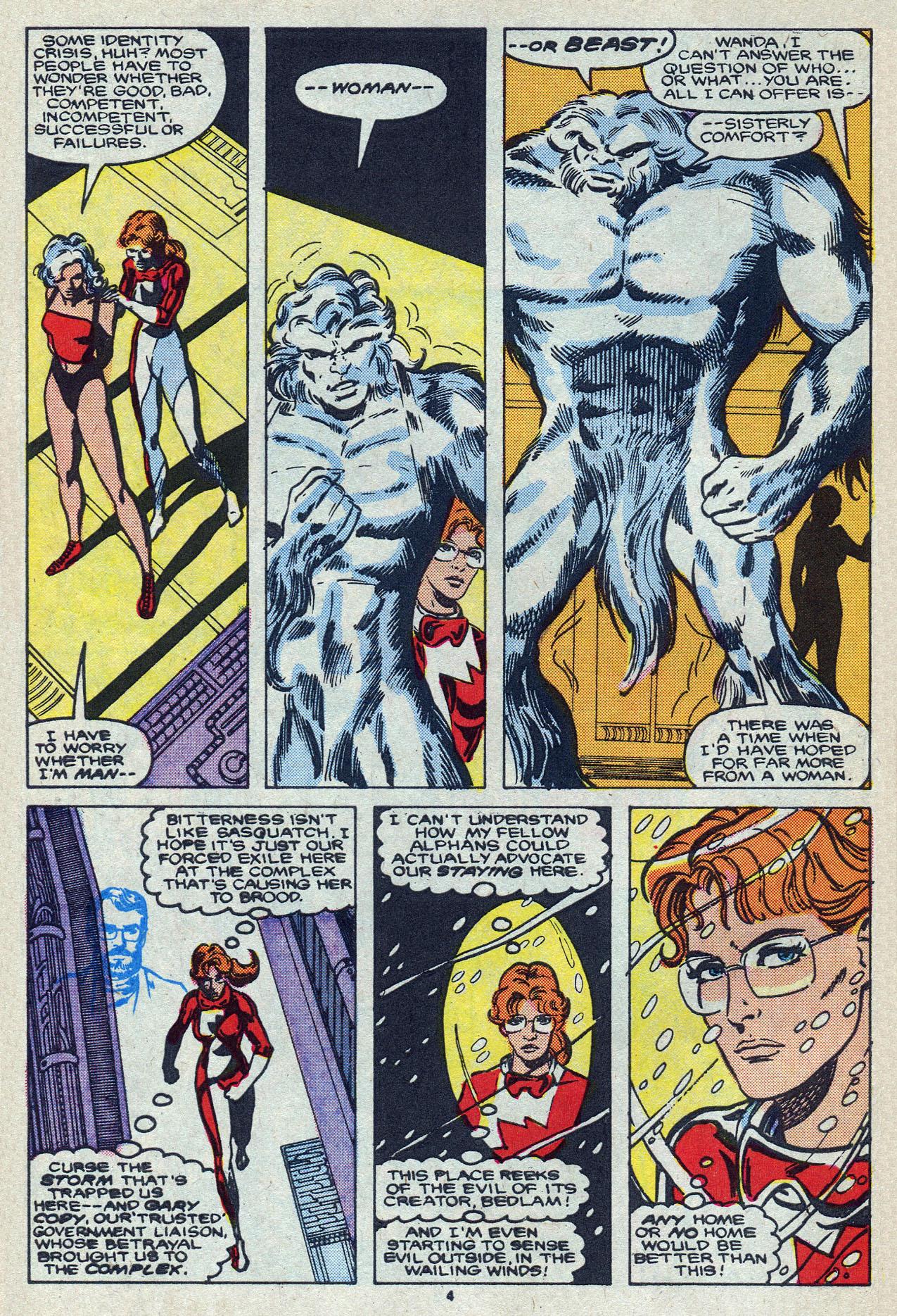Read online Alpha Flight (1983) comic -  Issue #55 - 6