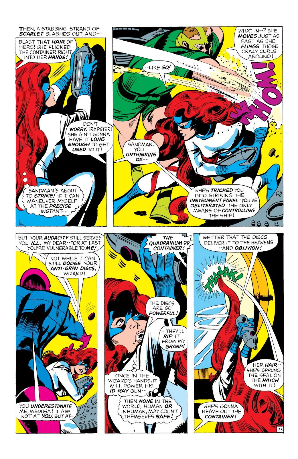Read online Marvel Masterworks: The Inhumans comic -  Issue # TPB 1 (Part 1) - 66