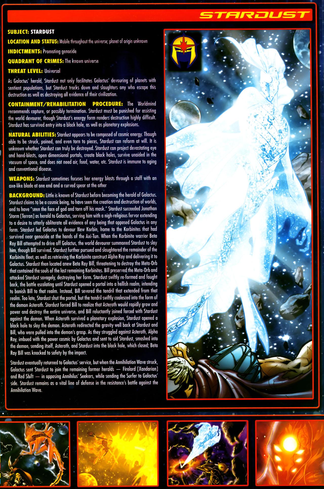 Read online Annihilation:  The  Nova Corps Files comic -  Issue #Annihilation:  The  Nova Corps Files Full - 38