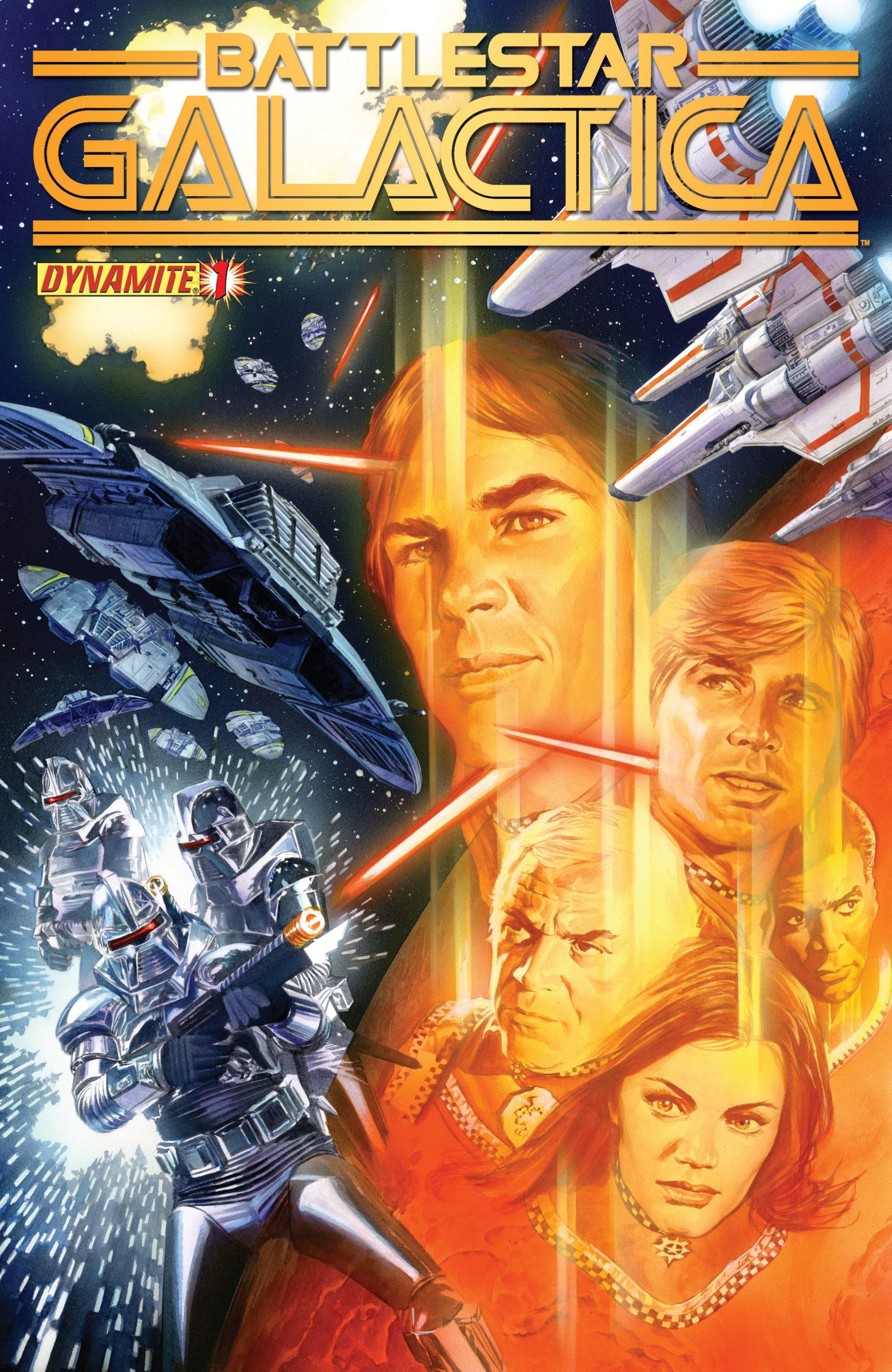 Classic Battlestar Galactica (2013) 1 Page 1
