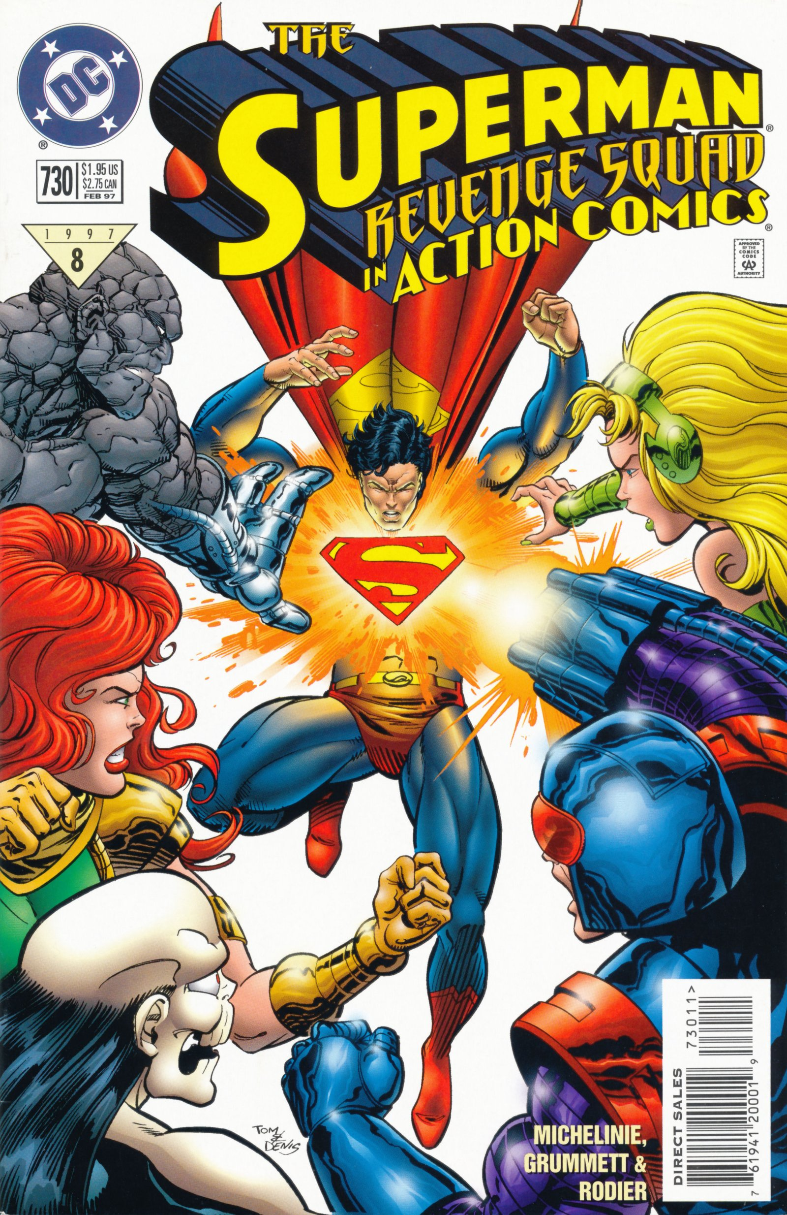 Read online Action Comics (1938) comic -  Issue #730 - 1