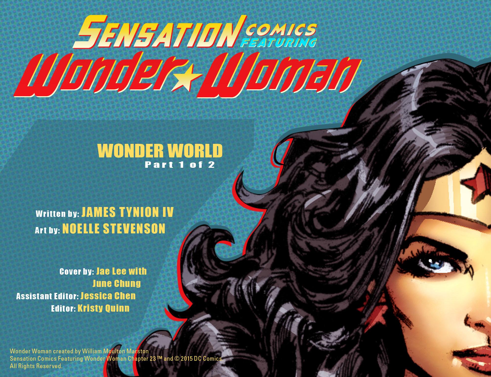 Read online Sensation Comics Featuring Wonder Woman comic -  Issue #23 - 2