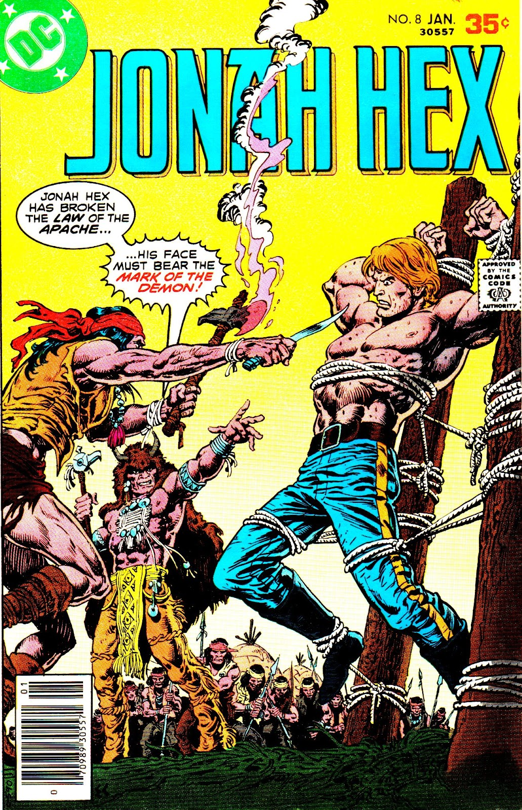 Jonah Hex (1977) 8 Page 1