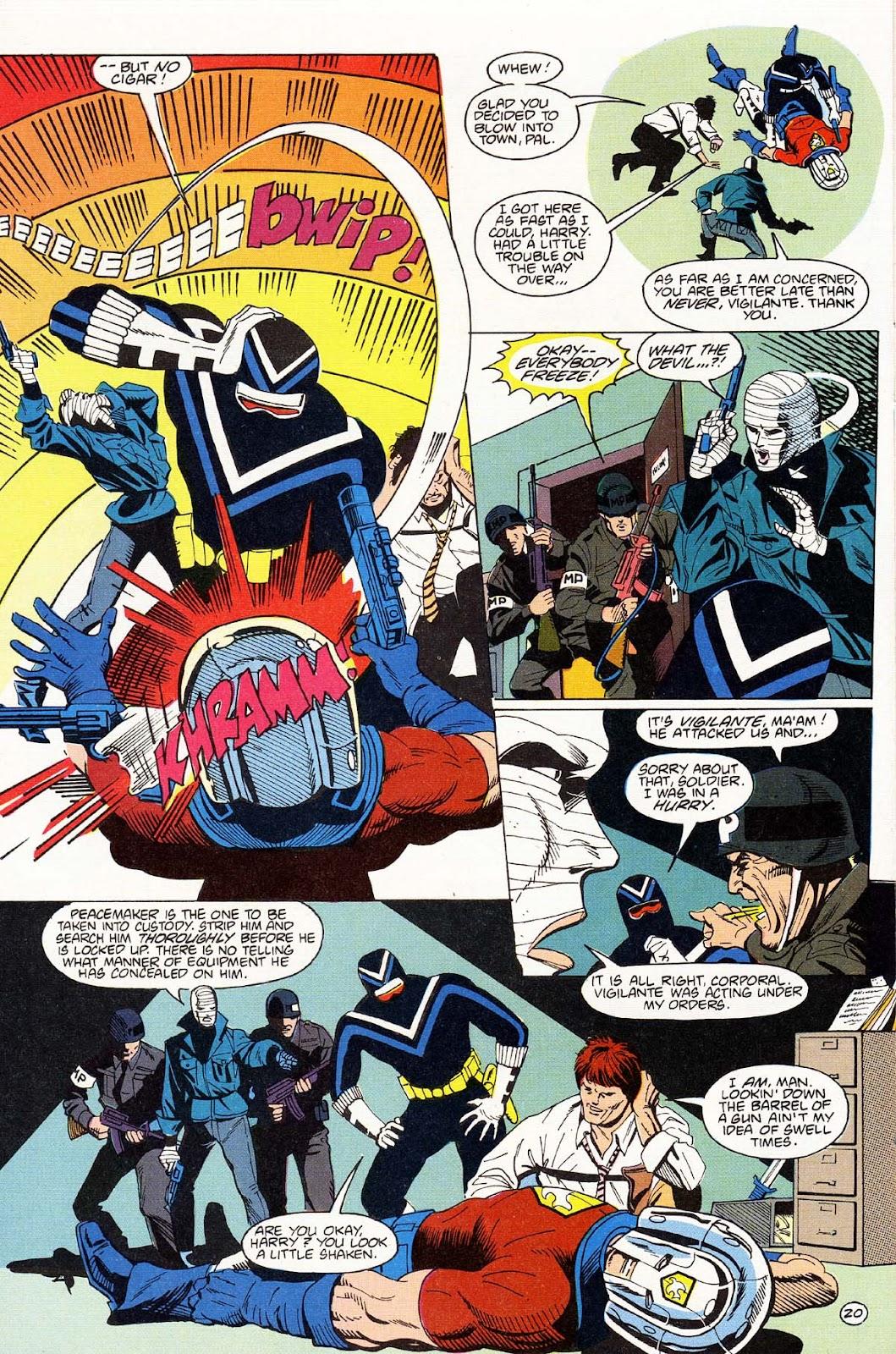 Vigilante (1983) issue 43 - Page 22