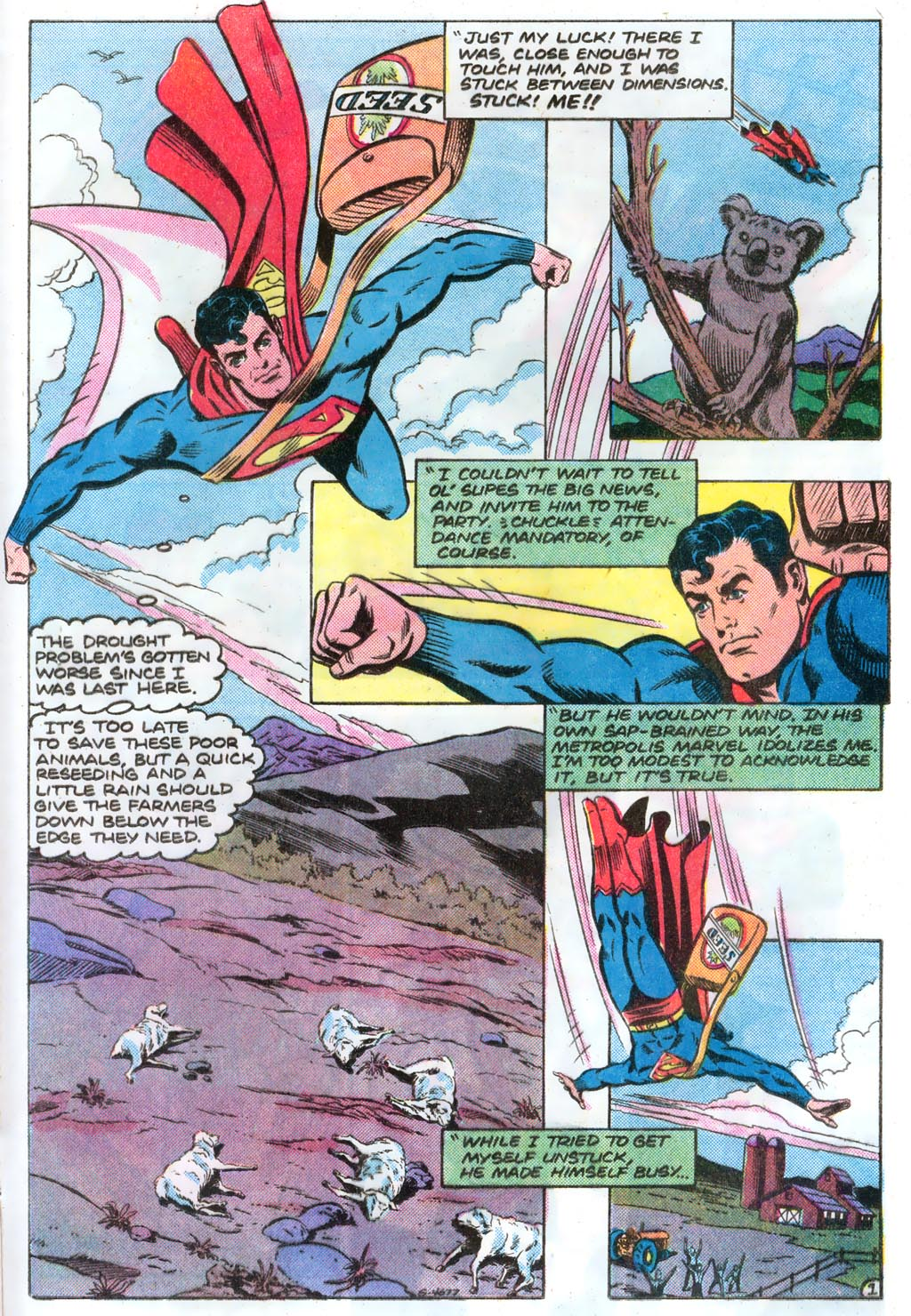 Read online Action Comics (1938) comic -  Issue #574 - 24