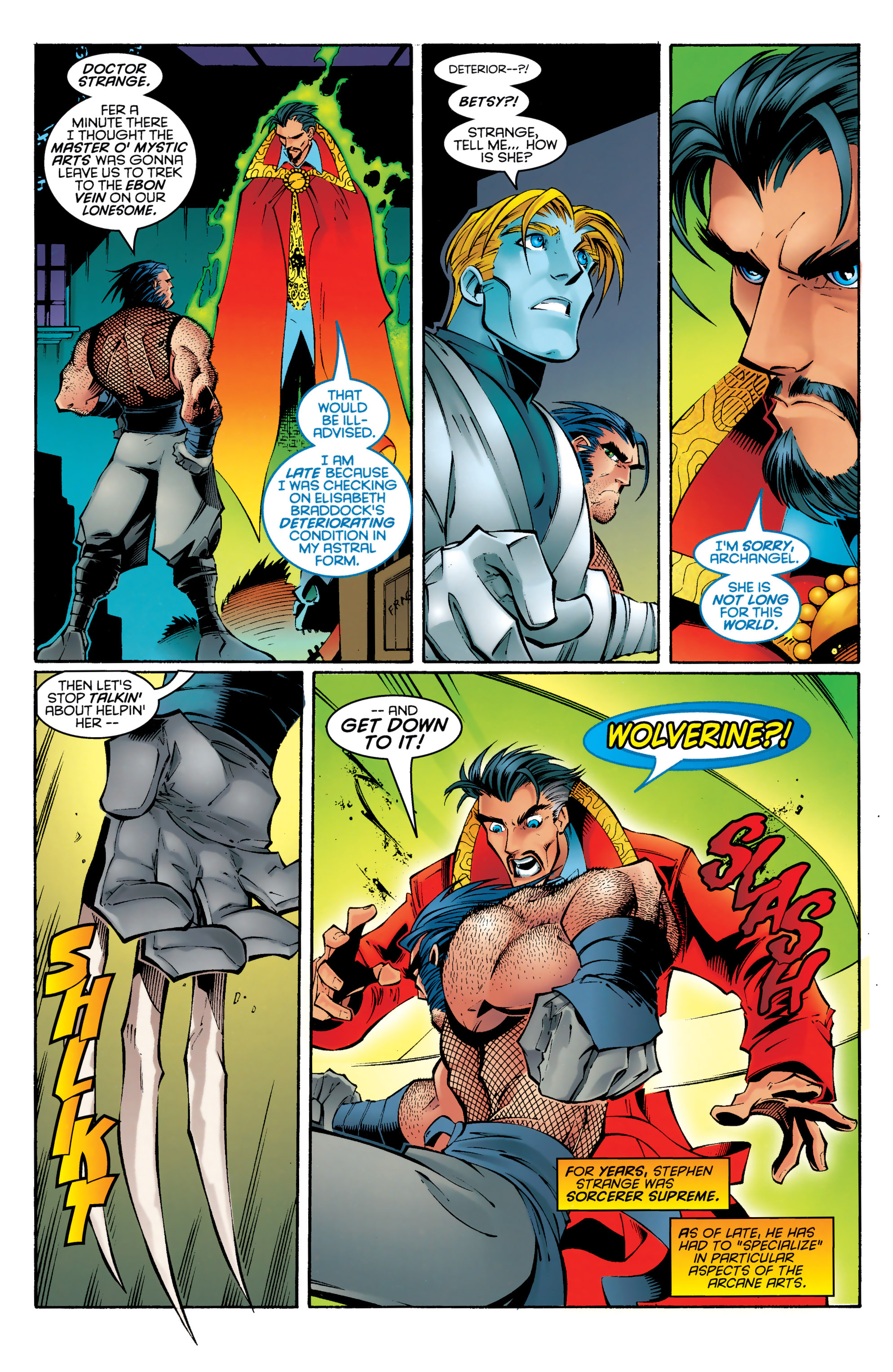 Read online Uncanny X-Men (1963) comic -  Issue #330 - 4