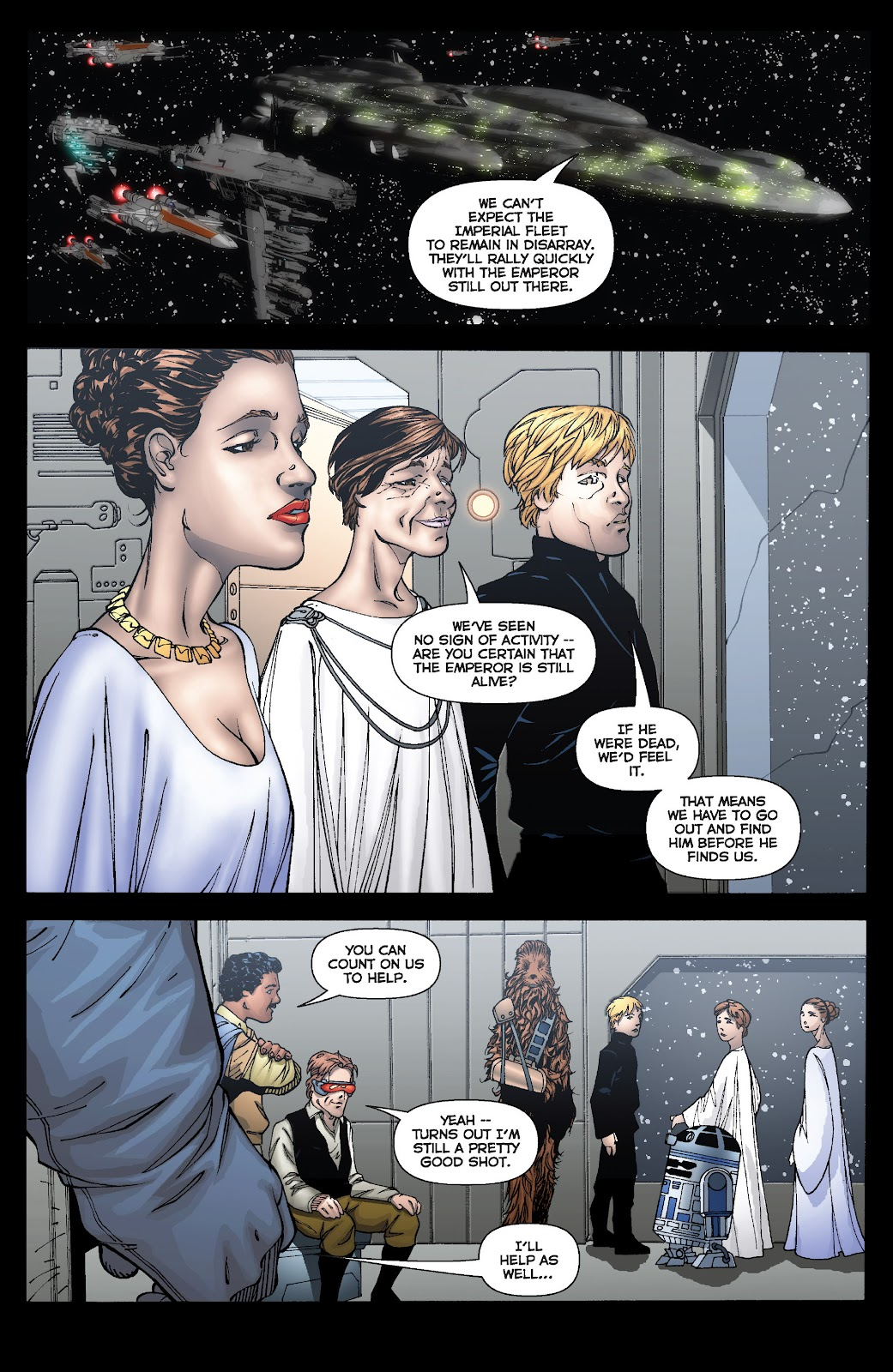 Read online Star Wars Legends: Infinities - Epic Collection comic -  Issue # TPB (Part 3) - 89