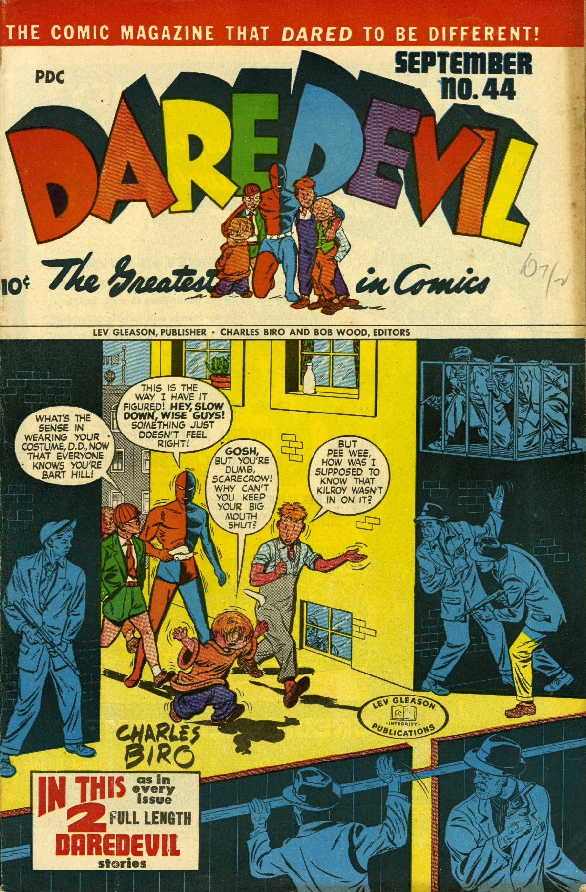 Daredevil (1941) issue 44 - Page 1