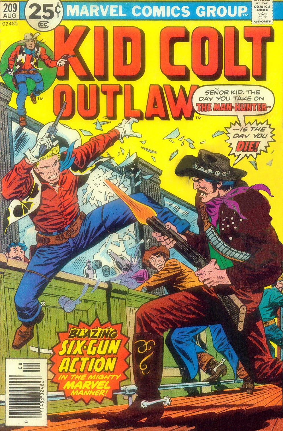 Kid Colt Outlaw issue 209 - Page 1