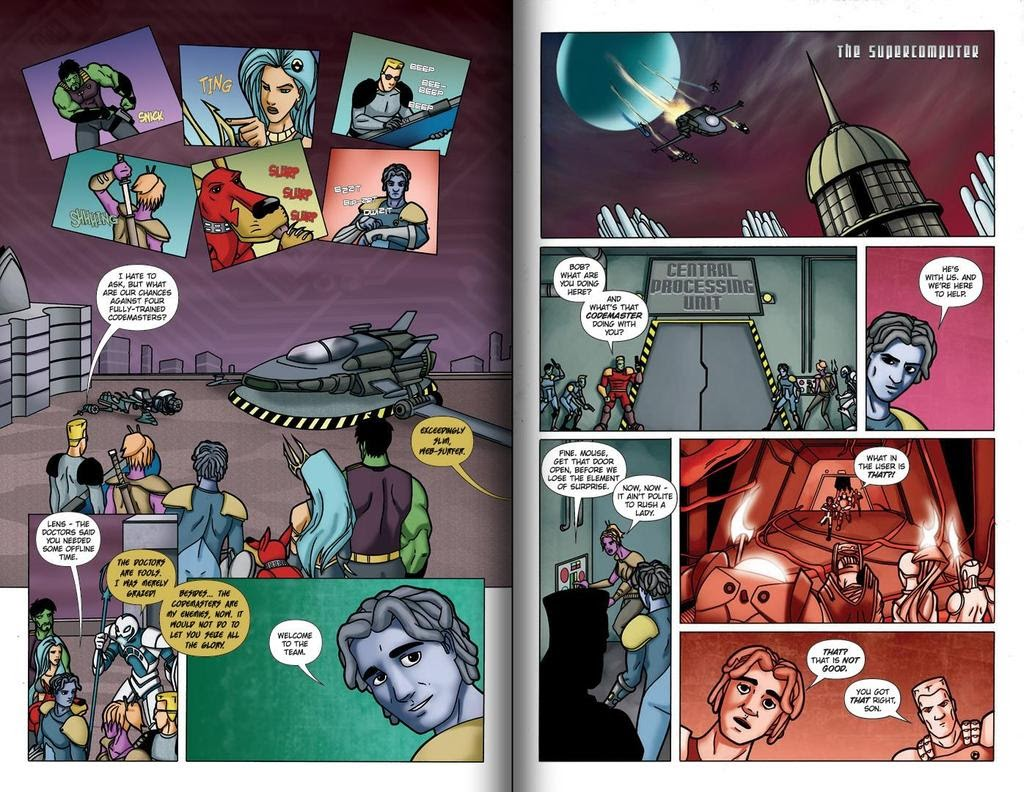 Read online ReBoot: Paradigms Lost comic -  Issue # Full - 17