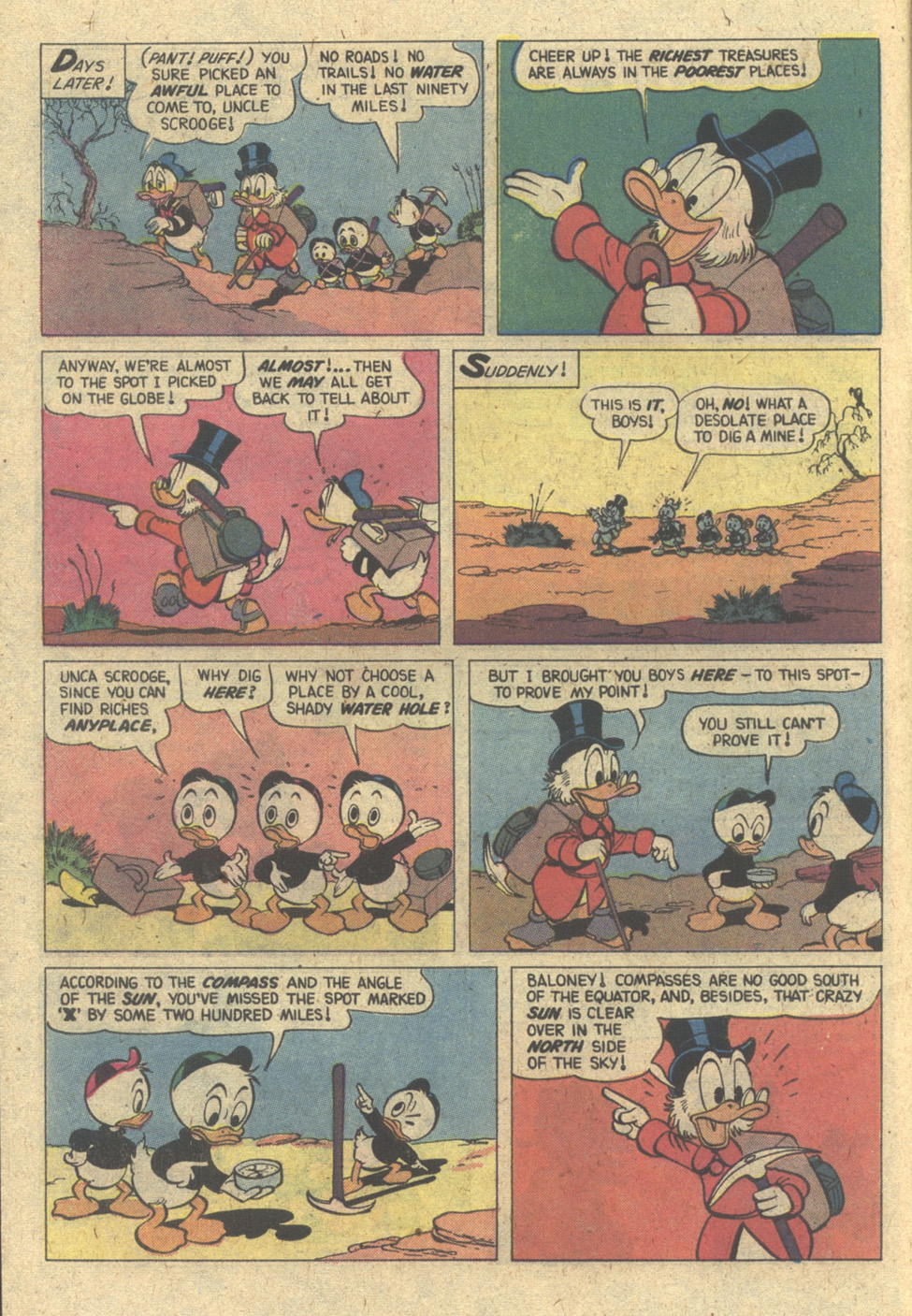 Read online Uncle Scrooge (1953) comic -  Issue #171 - 6
