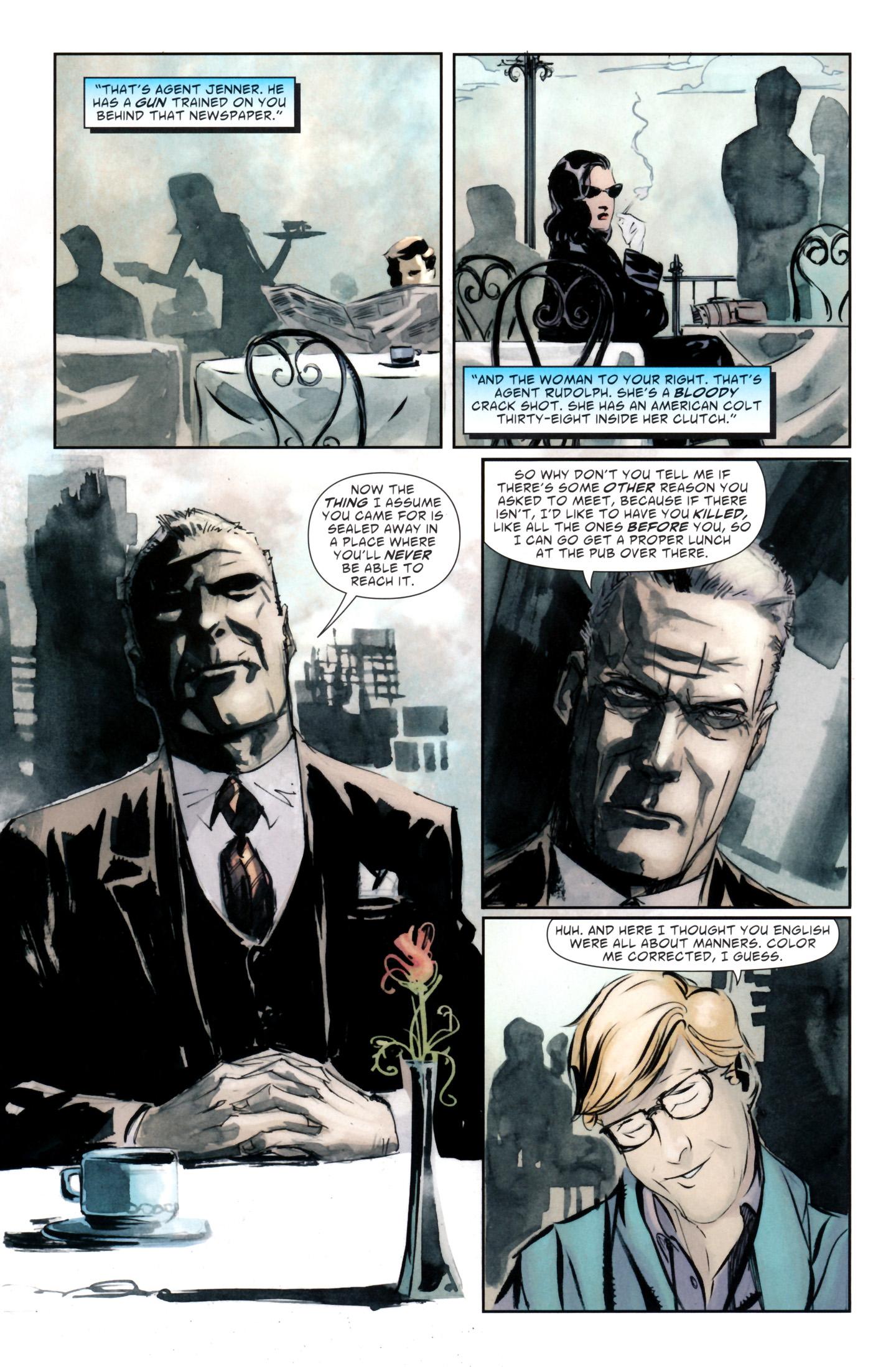 Read online American Vampire: Lord of Nightmares comic -  Issue #1 - 6