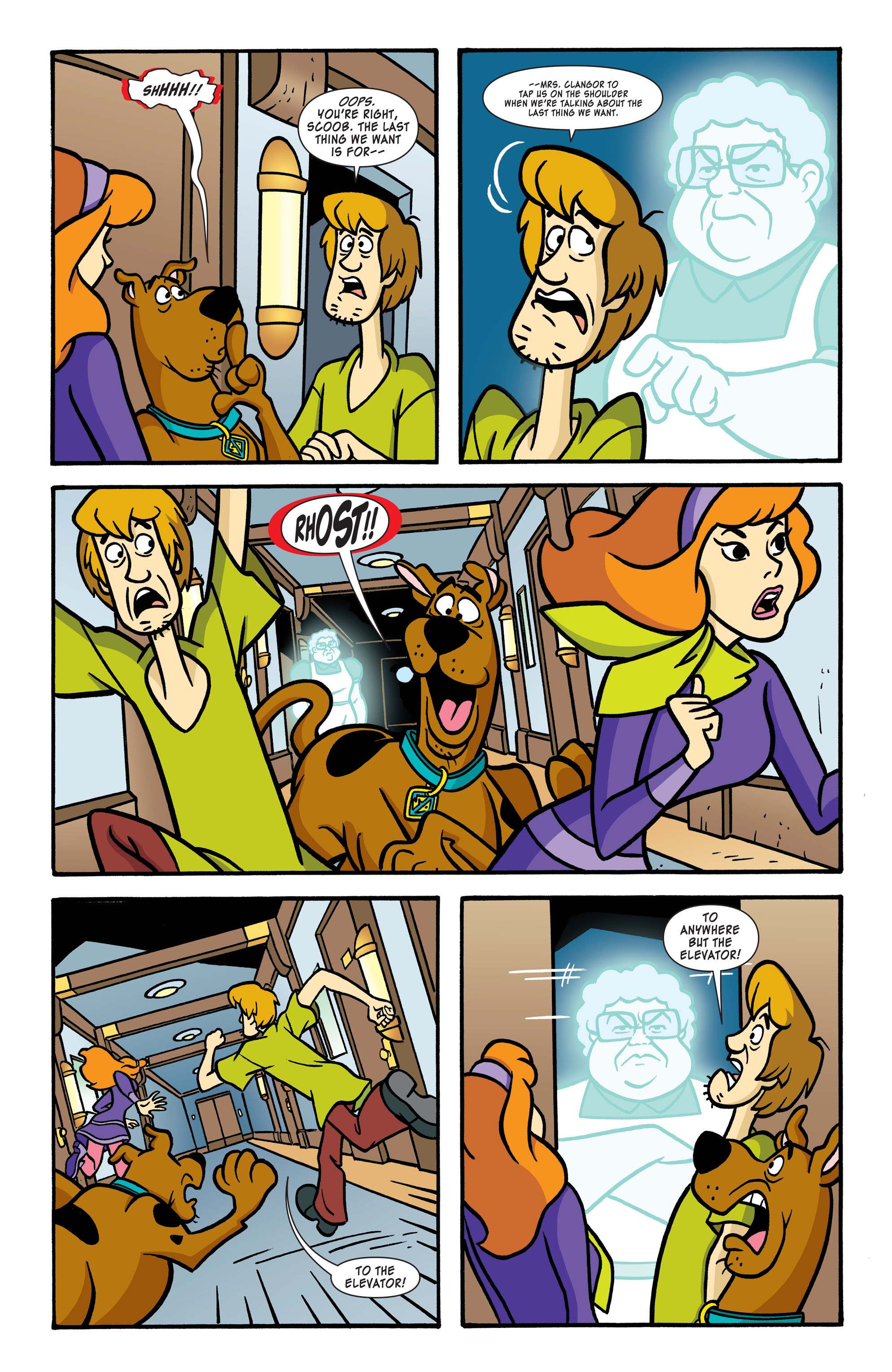 Read online Scooby-Doo: Where Are You? comic -  Issue #56 - 7