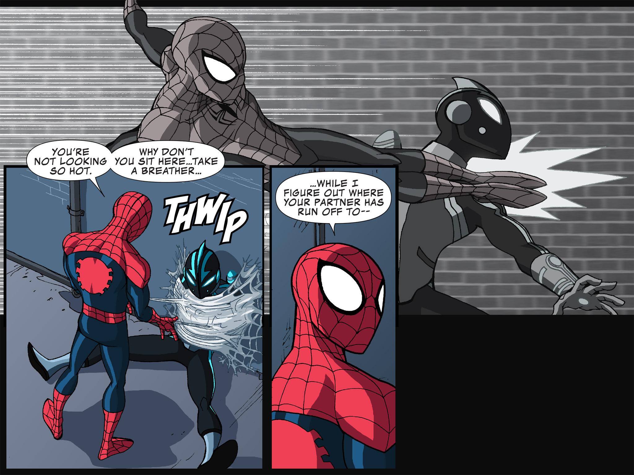 Read online Ultimate Spider-Man (Infinite Comics) (2015) comic -  Issue #12 - 28