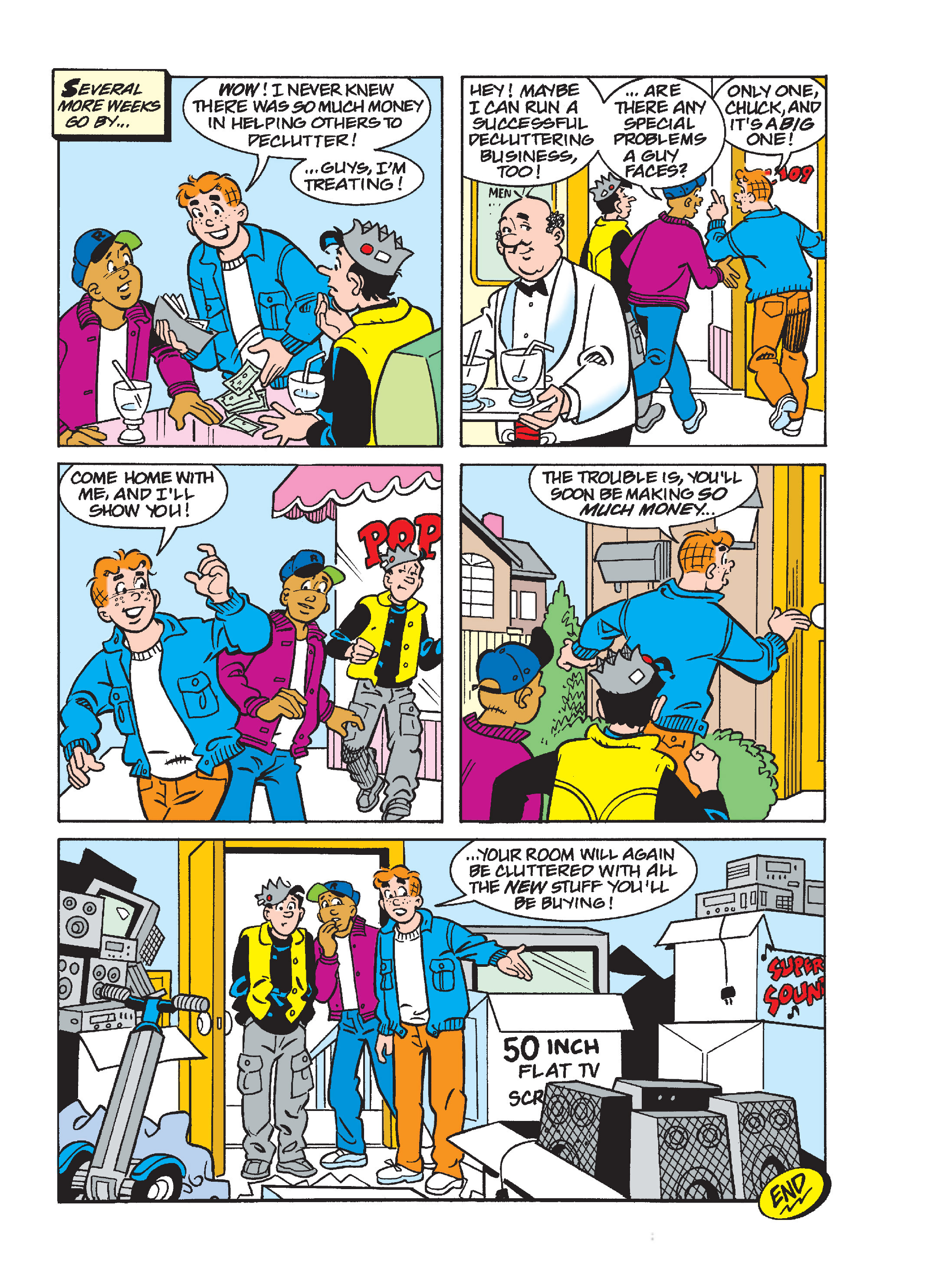 Read online World of Archie Double Digest comic -  Issue #55 - 205