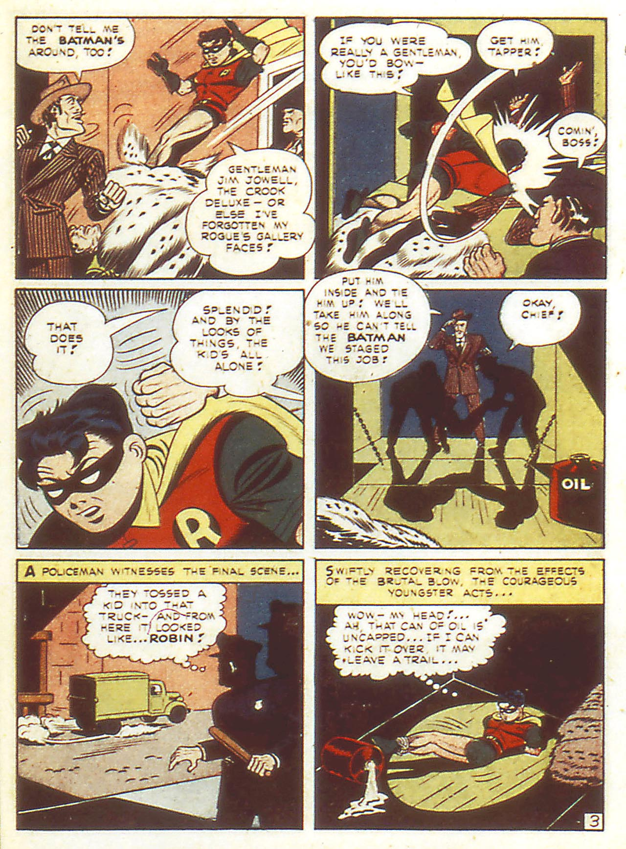 Read online Detective Comics (1937) comic -  Issue #86 - 5